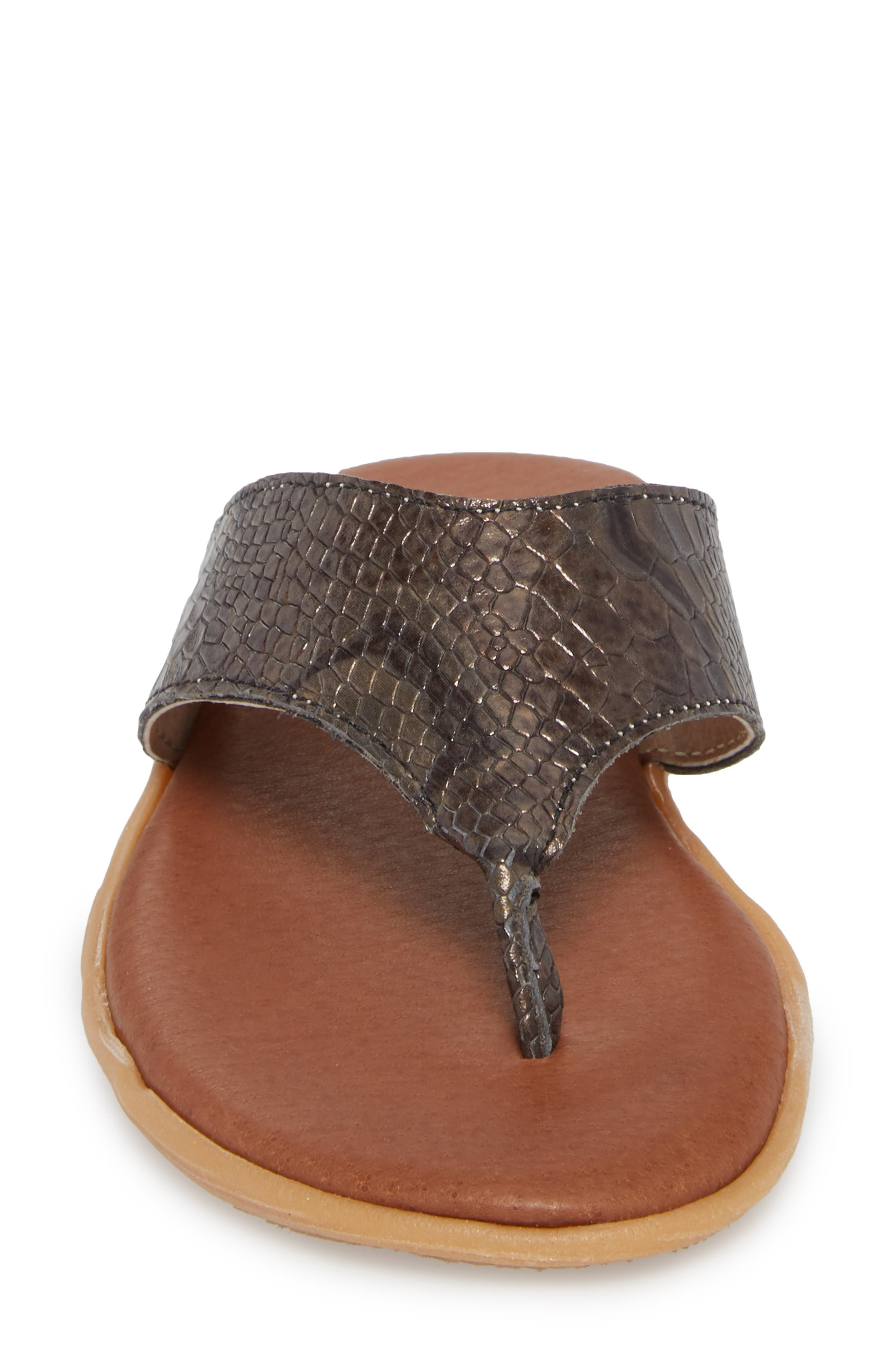 Flippity Flop Flip Flop,                             Alternate thumbnail 4, color,                             Snake Leather