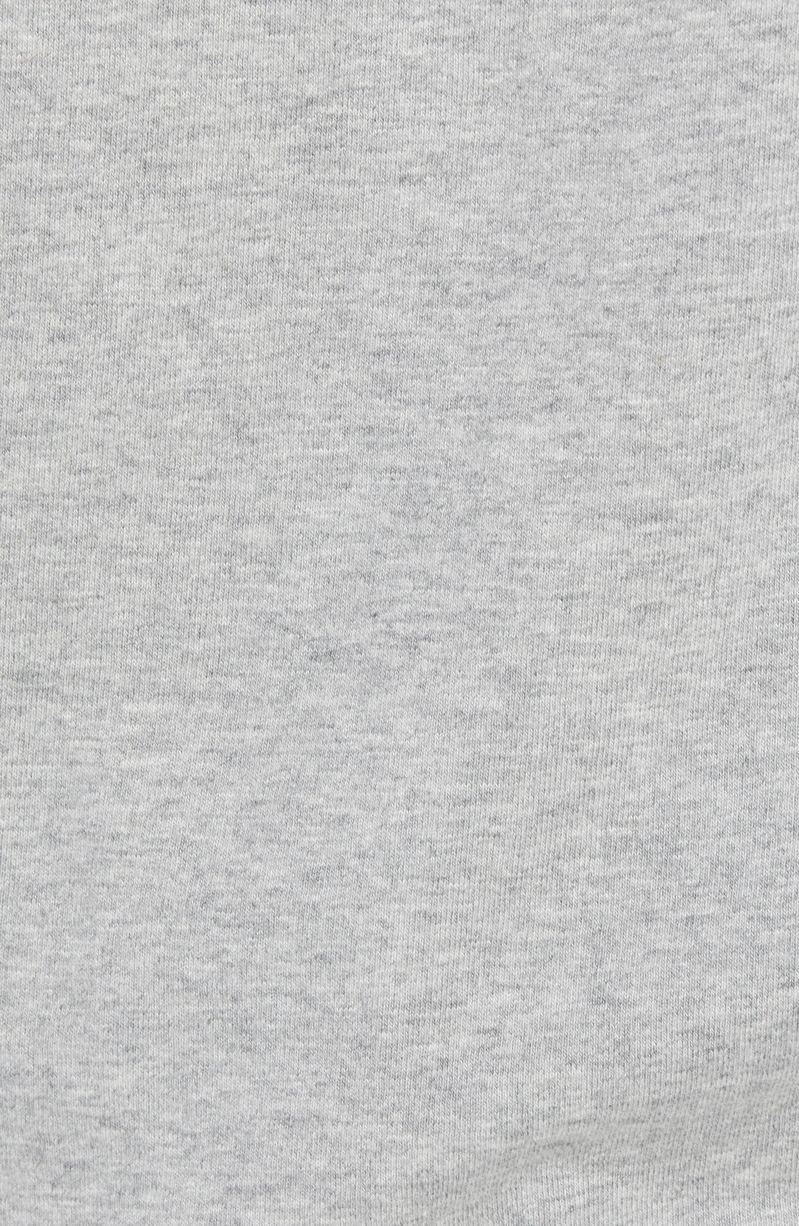 Chalk & Roll T-Shirt,                             Alternate thumbnail 5, color,                             Grey Heather