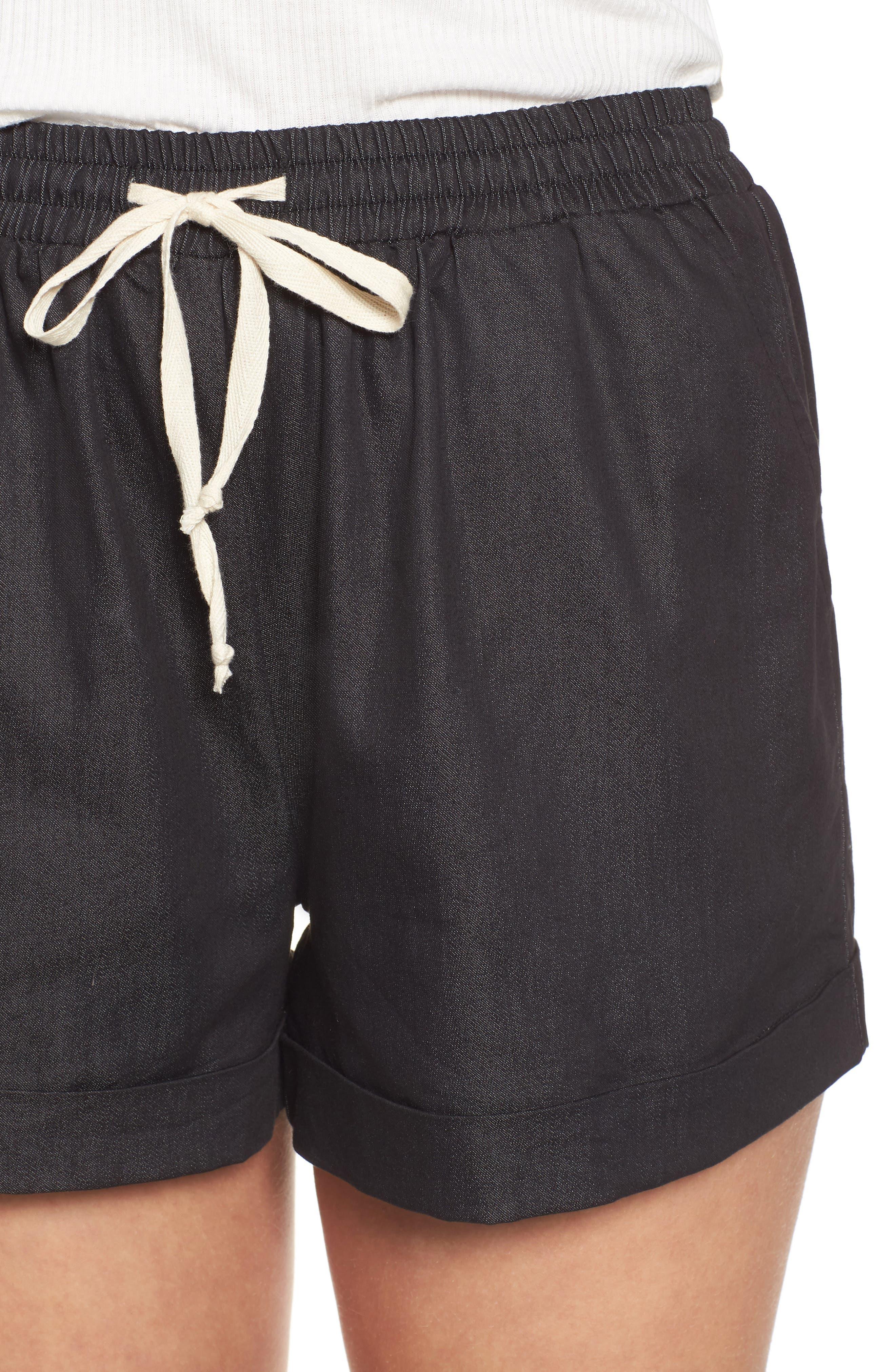 Getaway Shorts,                             Alternate thumbnail 4, color,                             Black