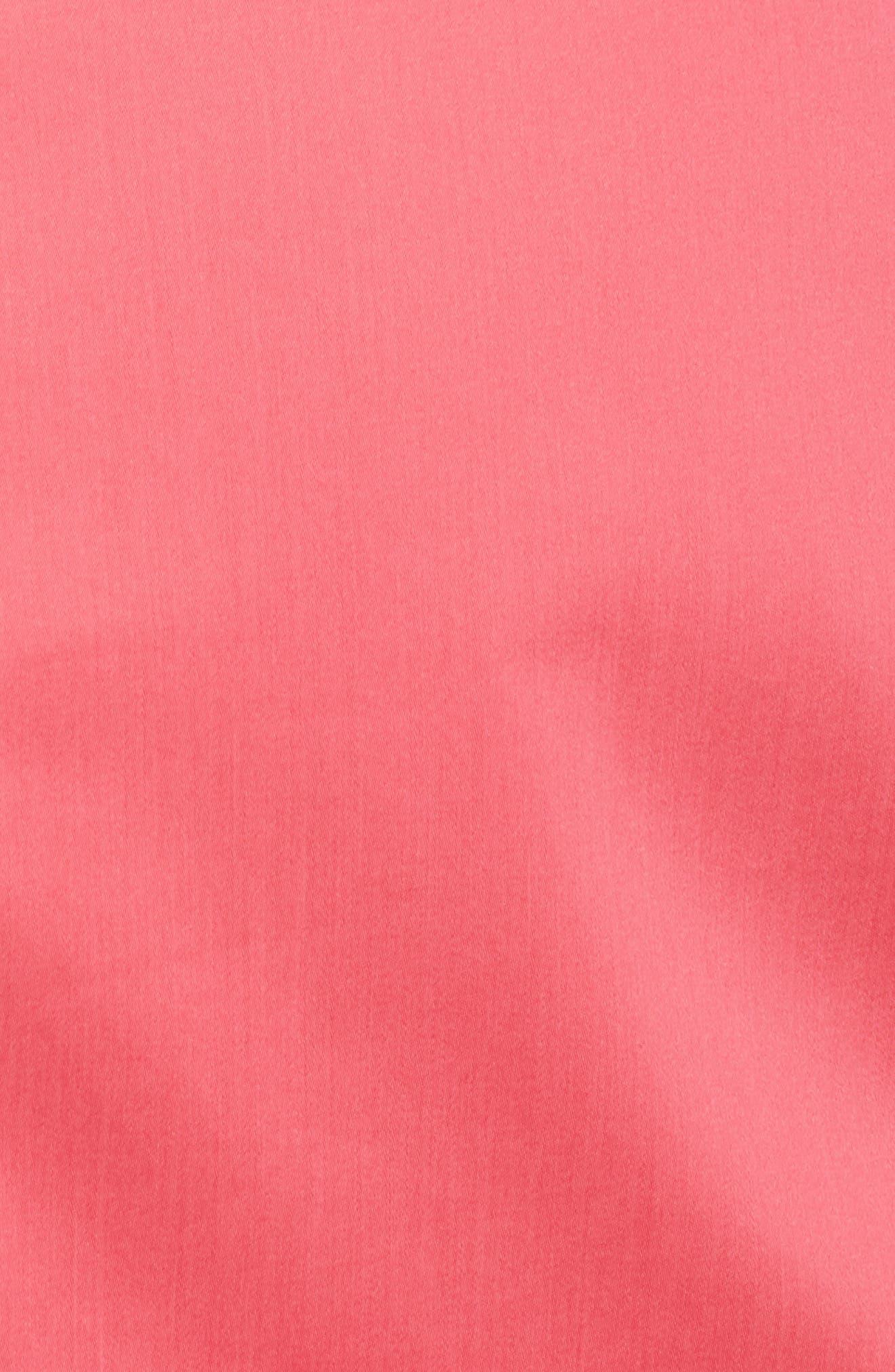 Dasali V-Neck Sheath Dress,                             Alternate thumbnail 6, color,                             Lychee Pink