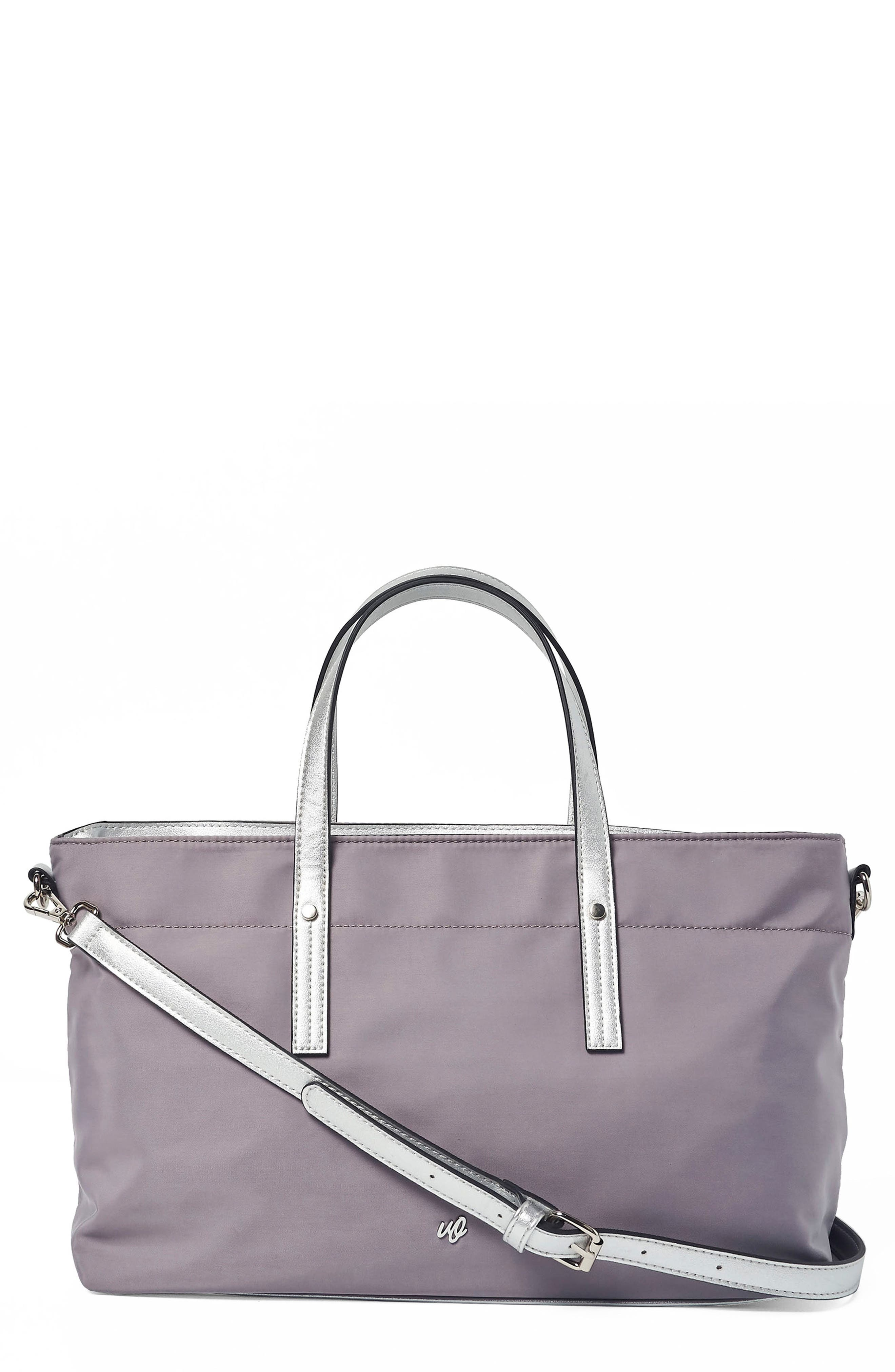 SUPERSTAR NYLON TOTE - GREY