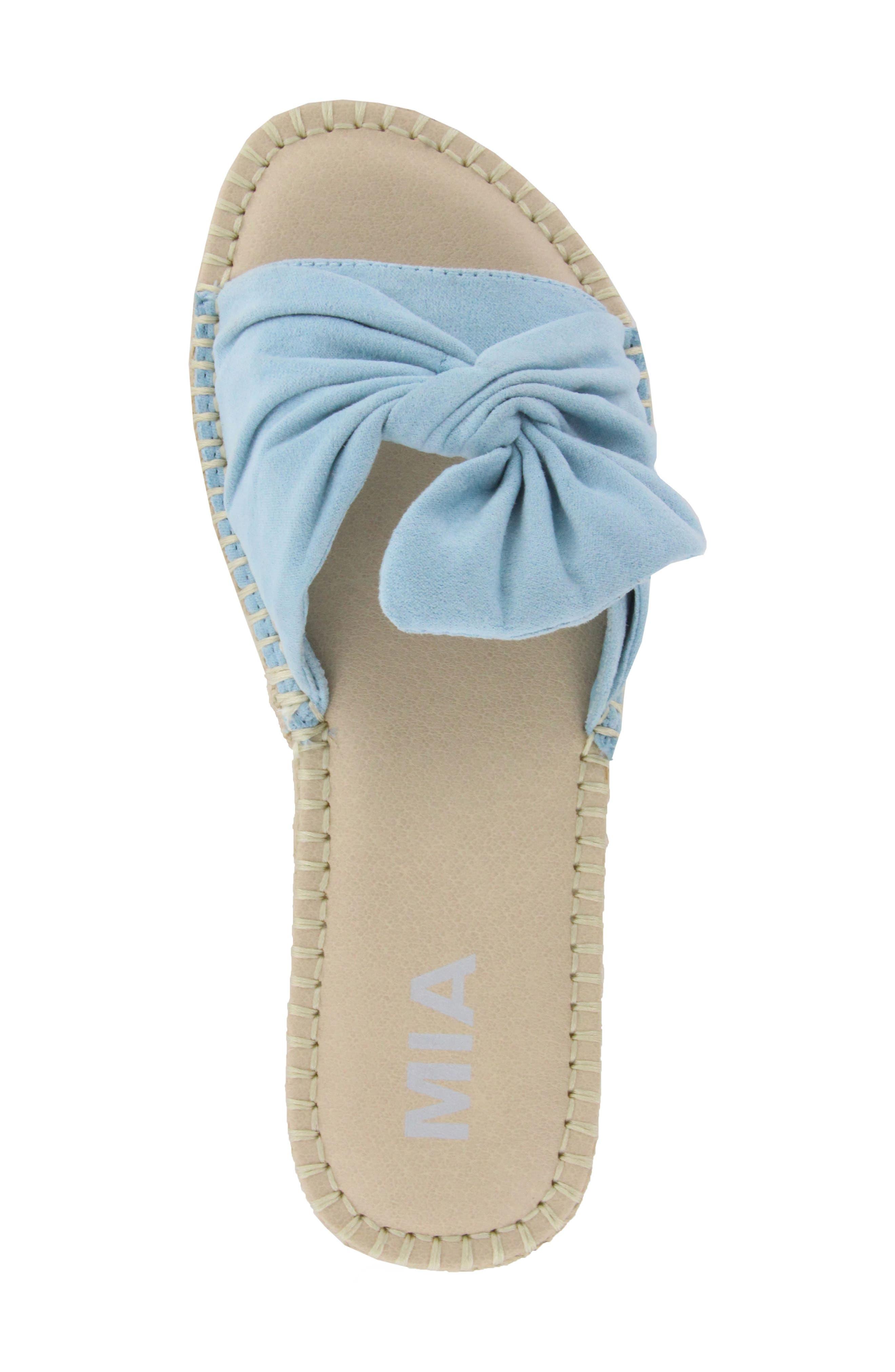 Alternate Image 3  - MIA Kensi Knotted Slide Sandal (Women)