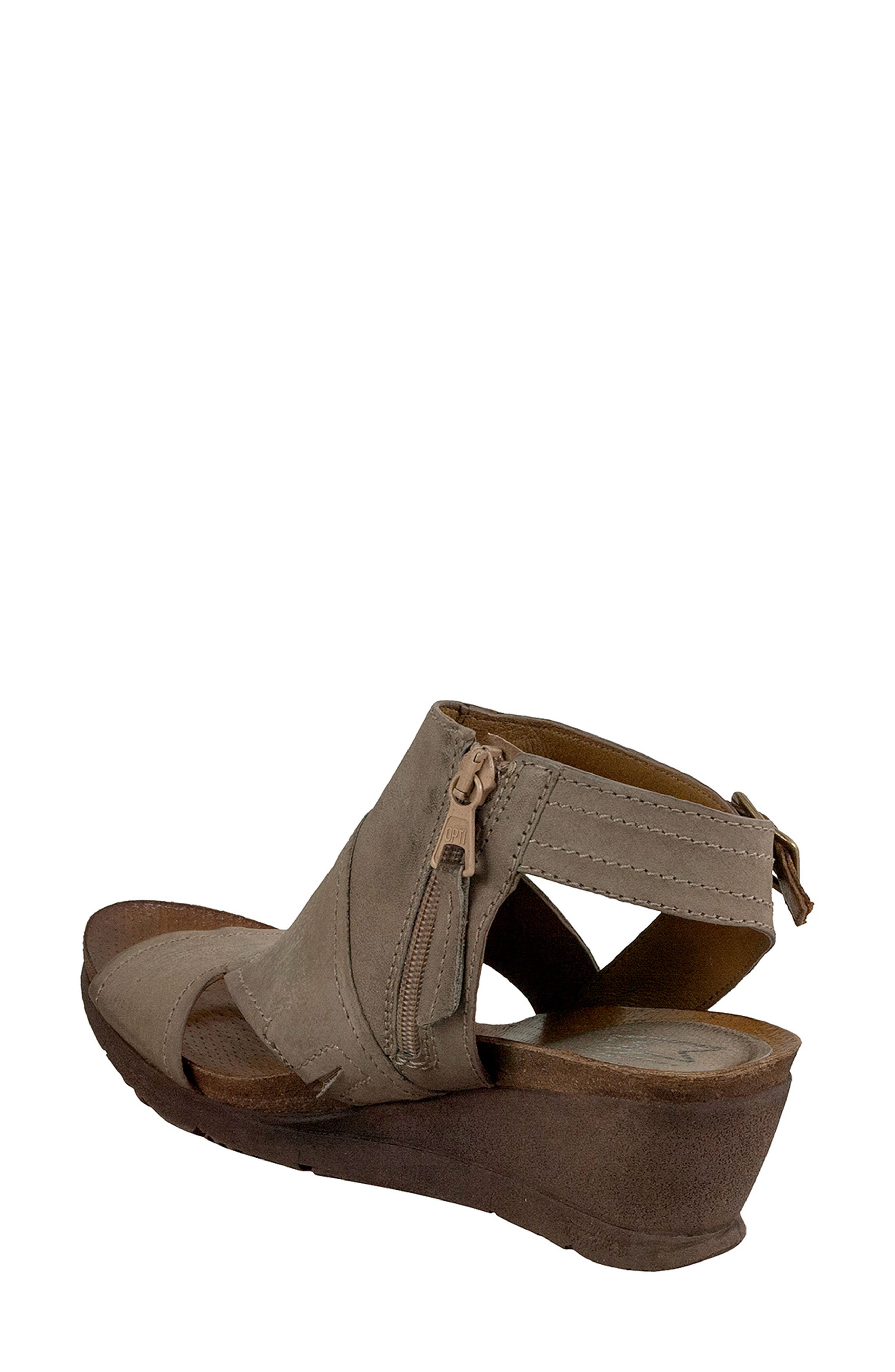 Scout Wedge Sandal,                             Alternate thumbnail 2, color,                             Pebble Leather