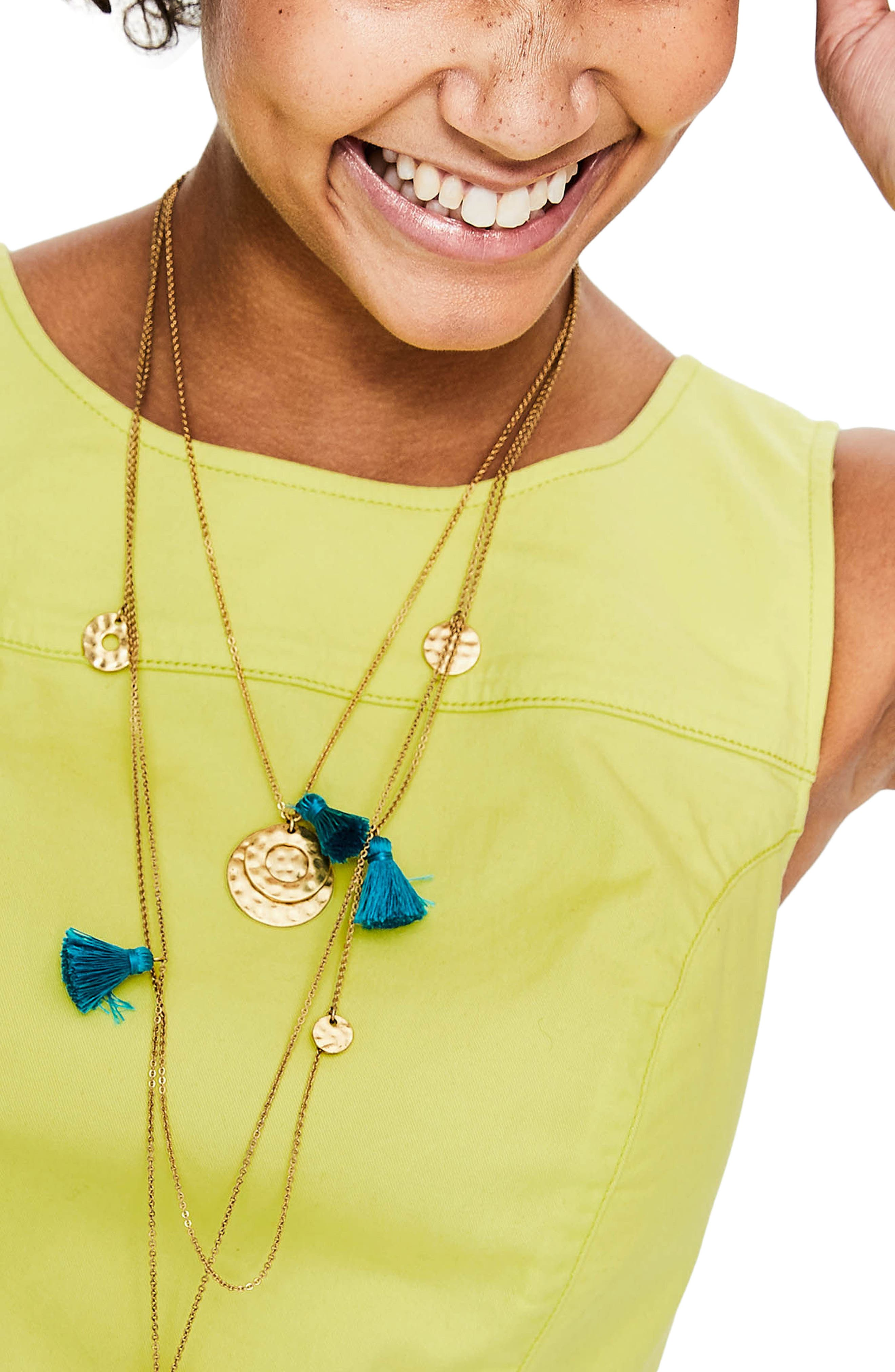 Tamara Stretch Cotton Sleeveless Dress,                             Alternate thumbnail 4, color,                             Citrus