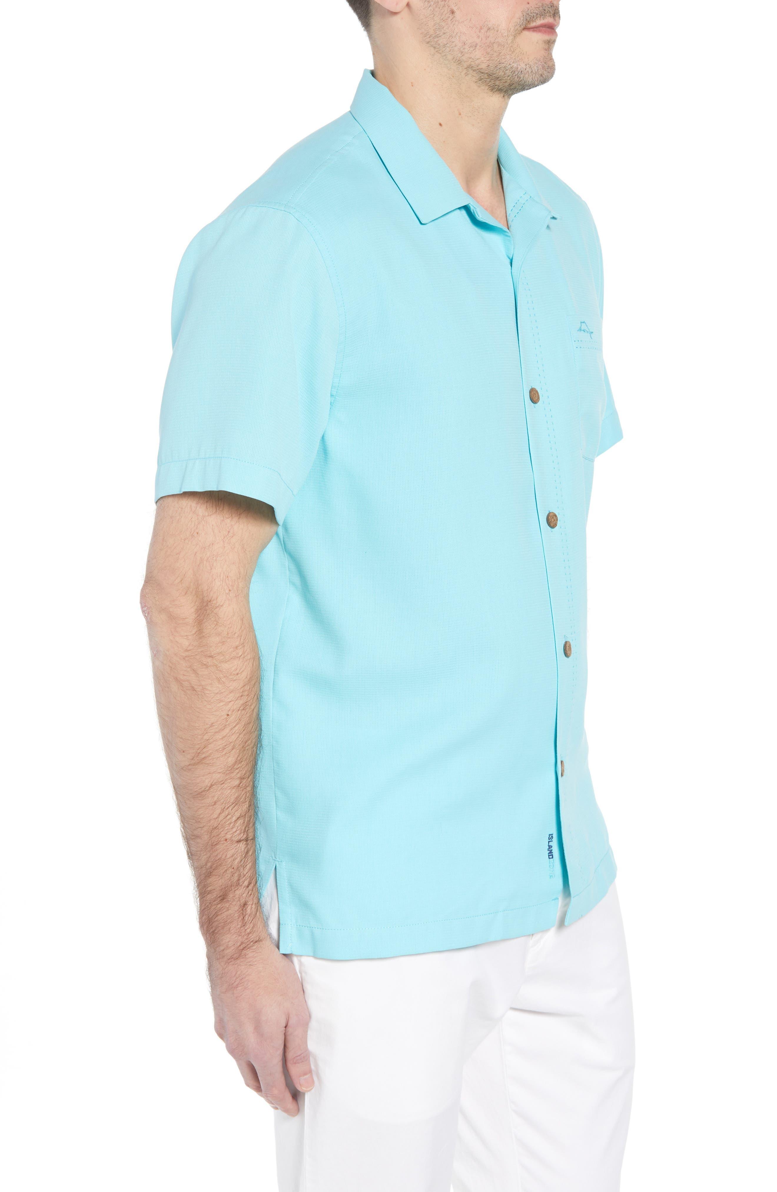 The Salvatore Standard Fit Sport Shirt,                             Alternate thumbnail 3, color,                             Allure