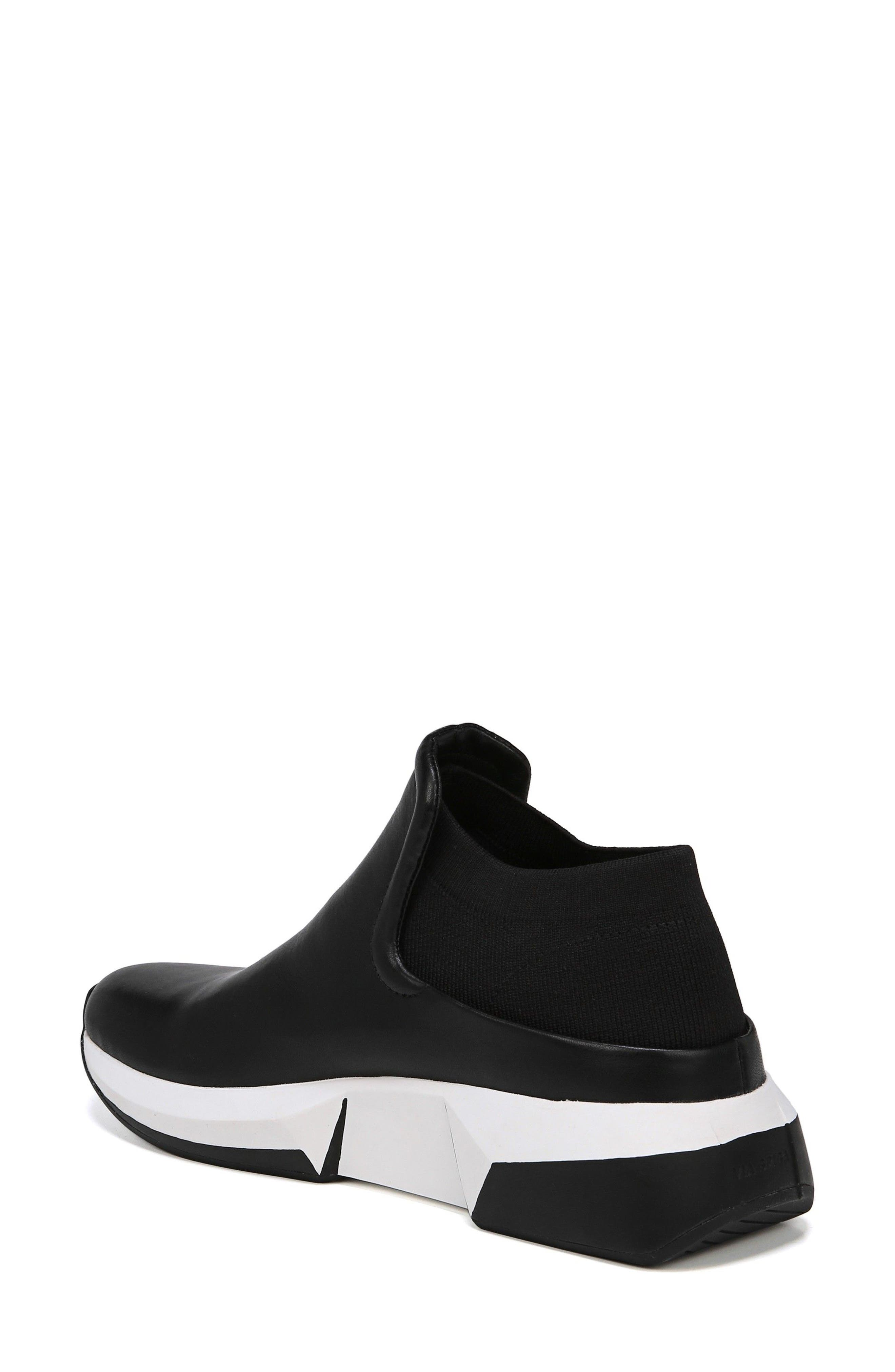 Veila Slip-On Sneaker,                             Alternate thumbnail 2, color,                             Black Leather
