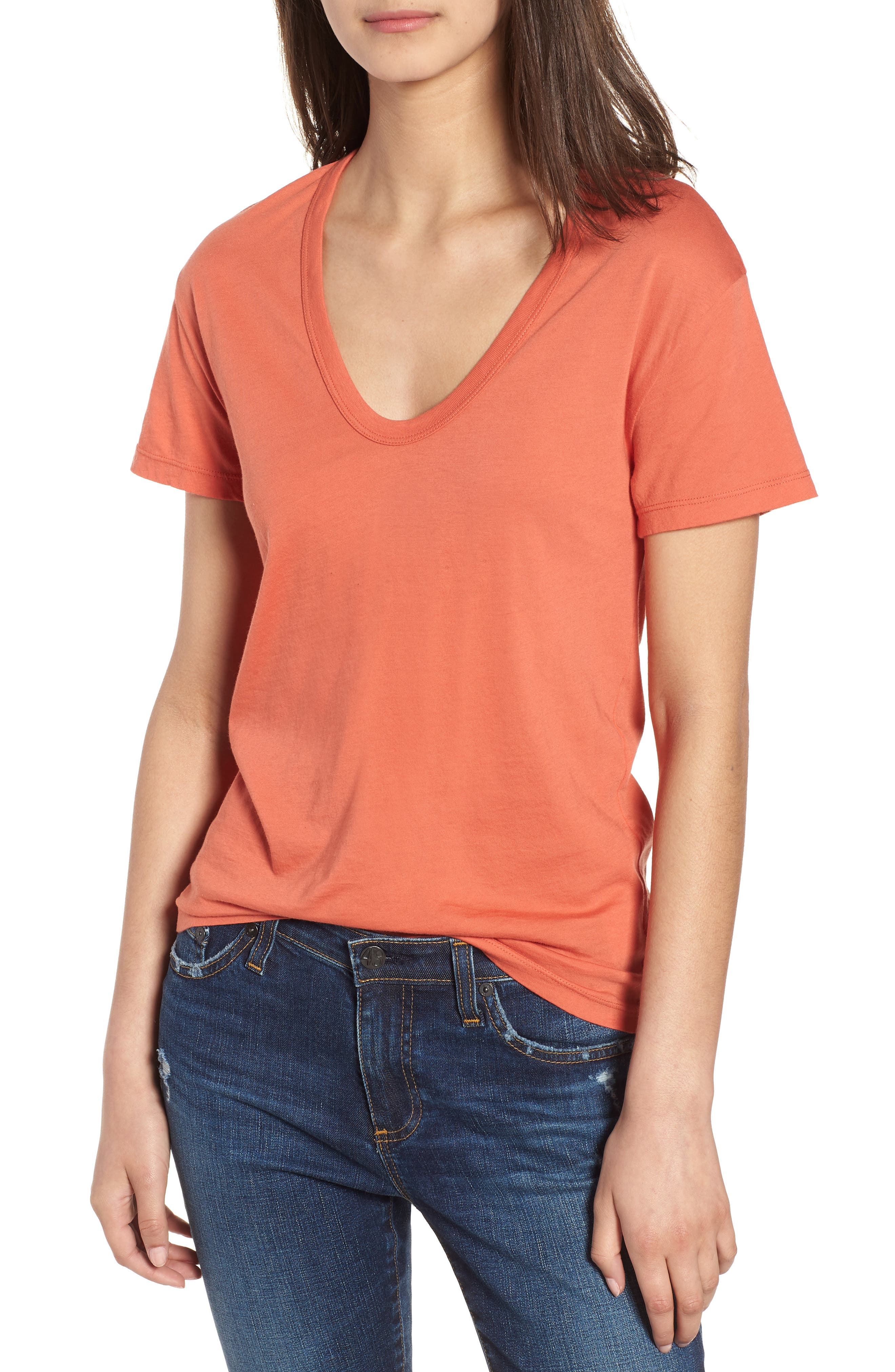 Henson Tee,                         Main,                         color, Summer Fig