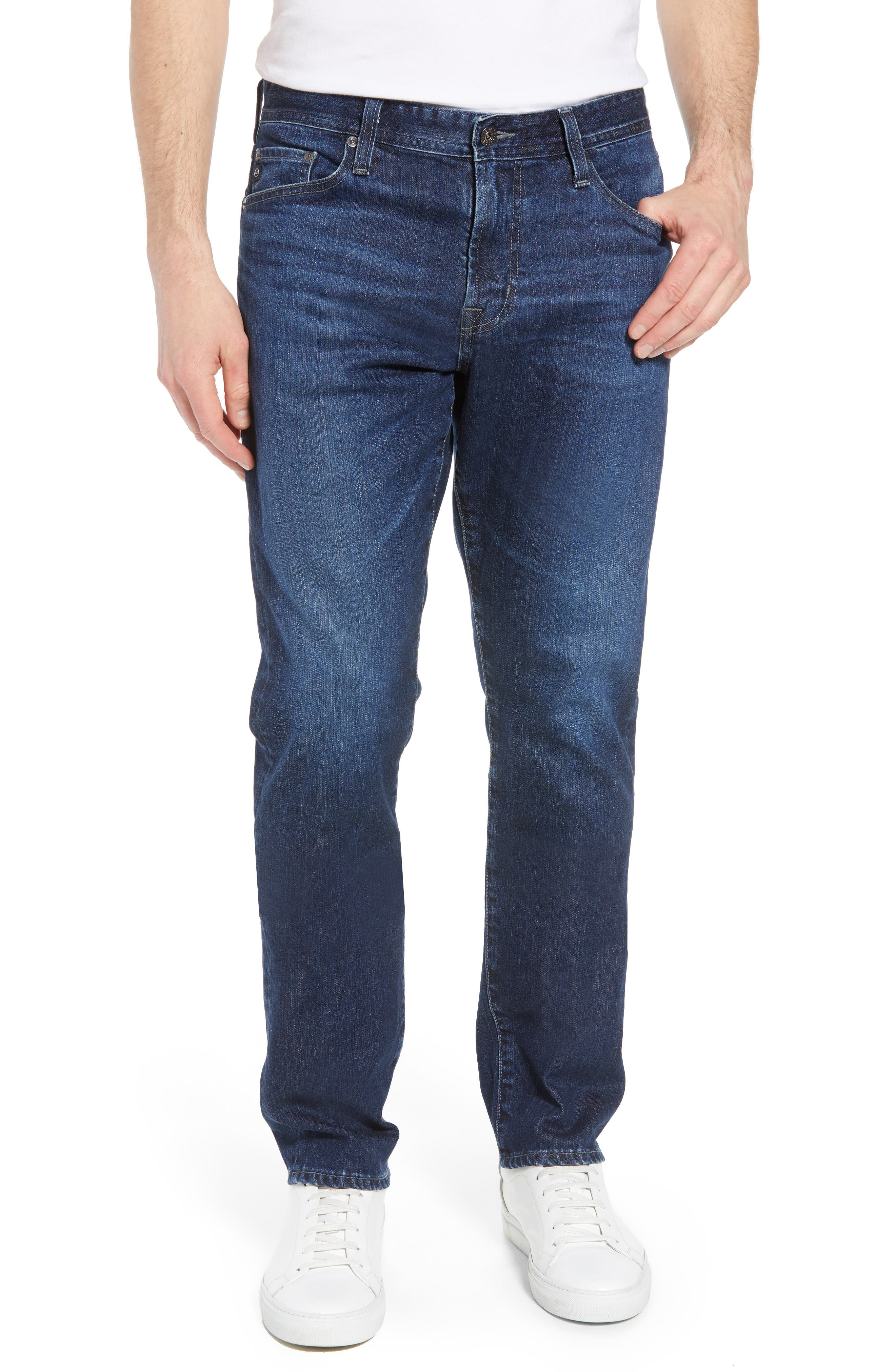 Ives Straight Leg Jeans,                             Main thumbnail 1, color,                             Lakeview