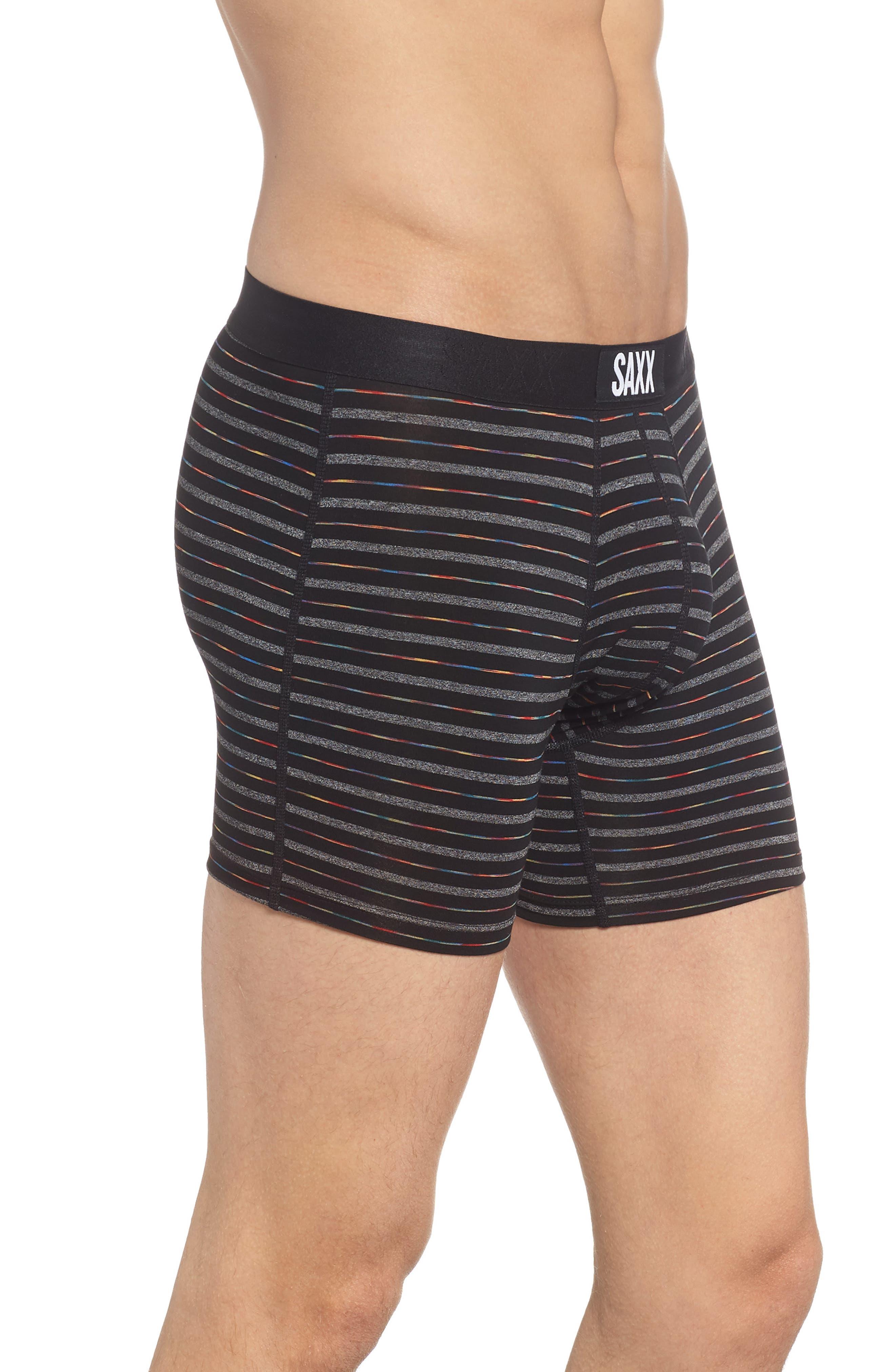 Vibe Boxer Briefs,                             Alternate thumbnail 3, color,                             Black Gradient Stripe