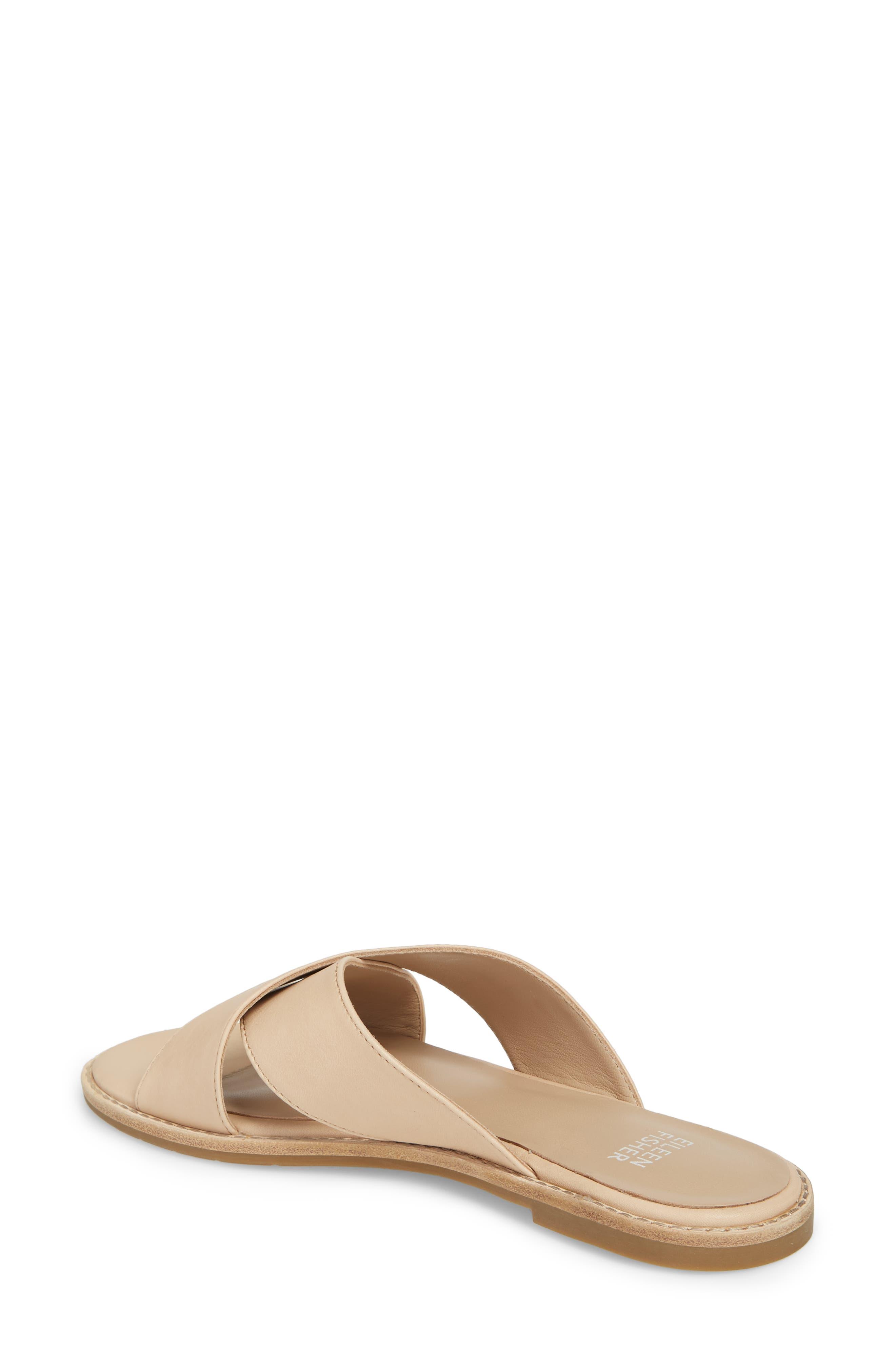Cape Slide Sandal,                             Alternate thumbnail 2, color,                             Desert Leather