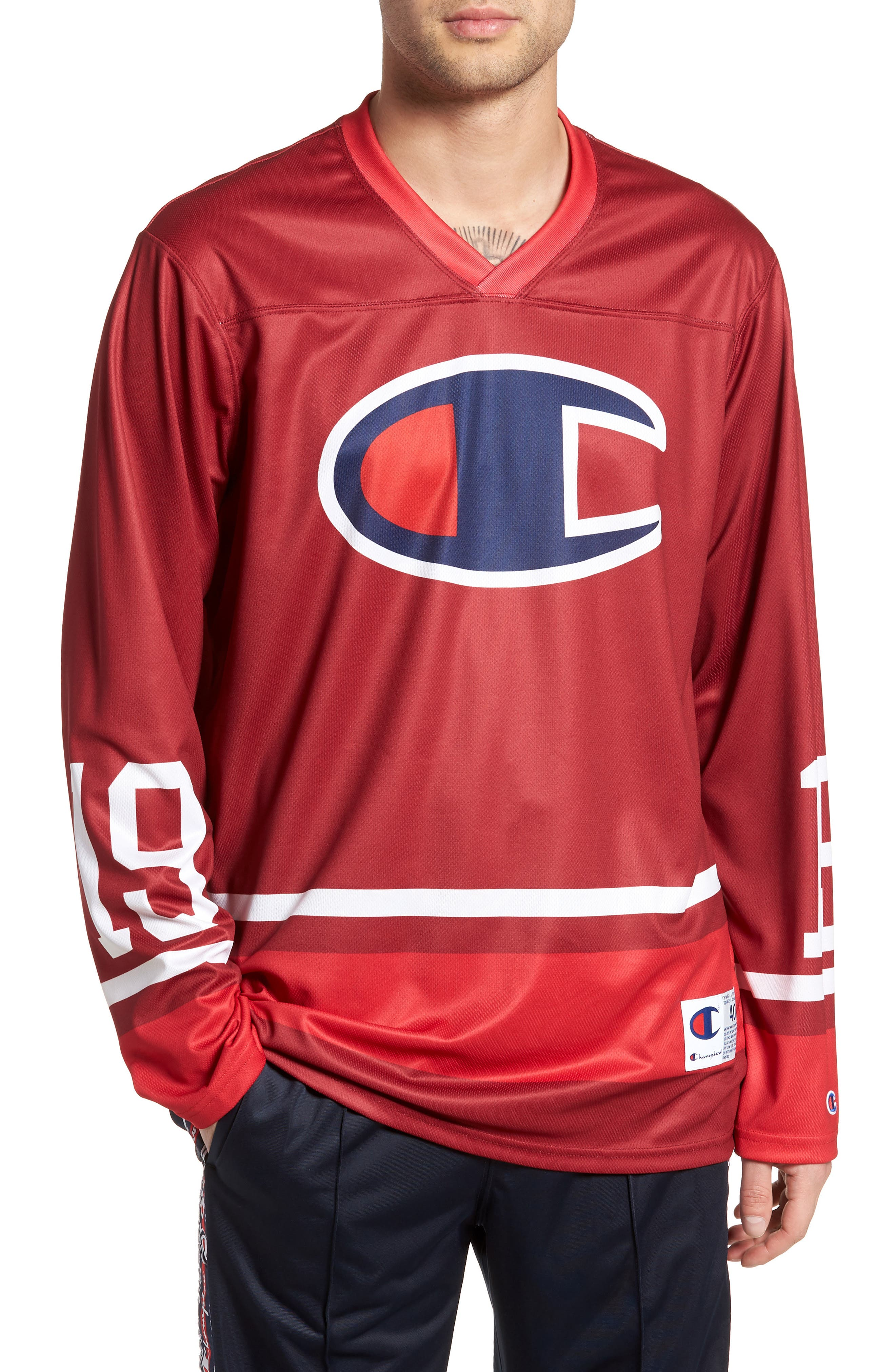 Champion Hockey Jersey