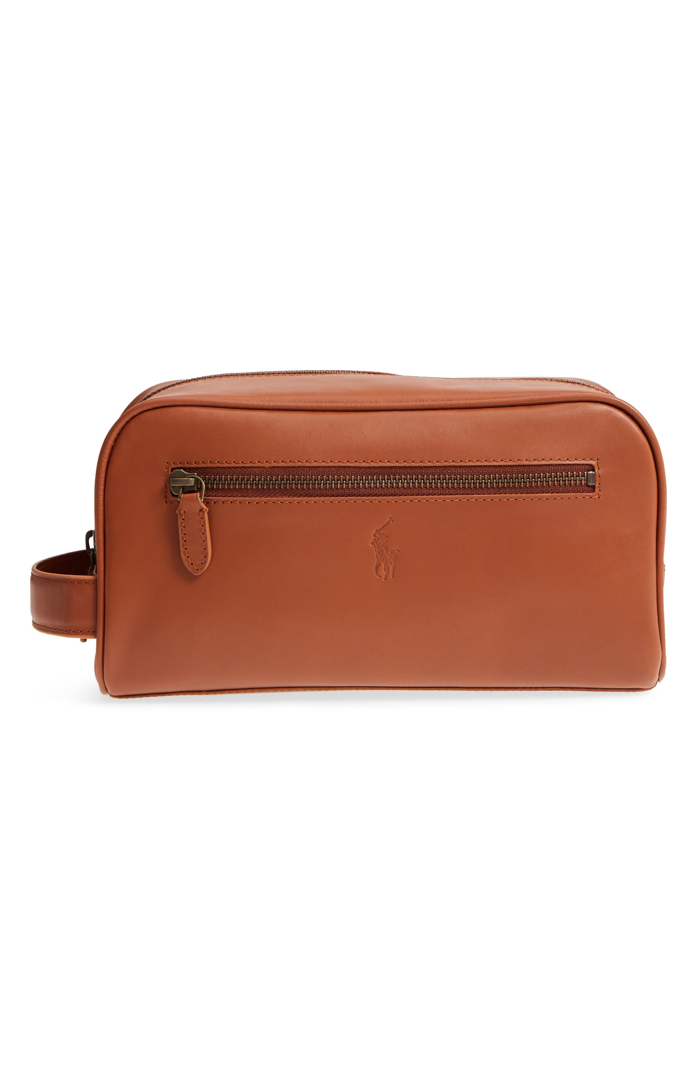 Polo Ralph Lauren Leather Dopp Kit