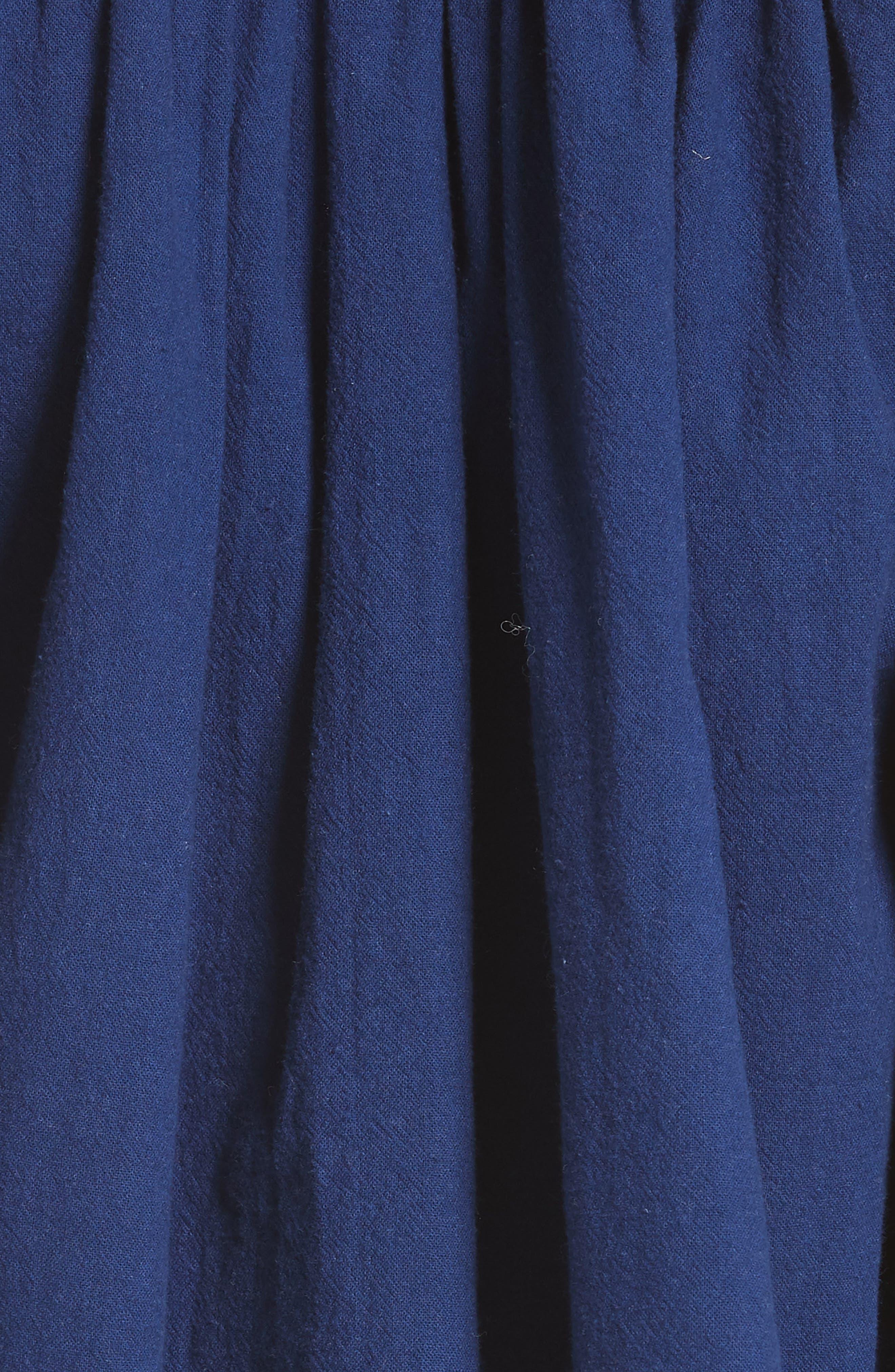Cherry Bomb Top & Shorts,                             Alternate thumbnail 5, color,                             Blue