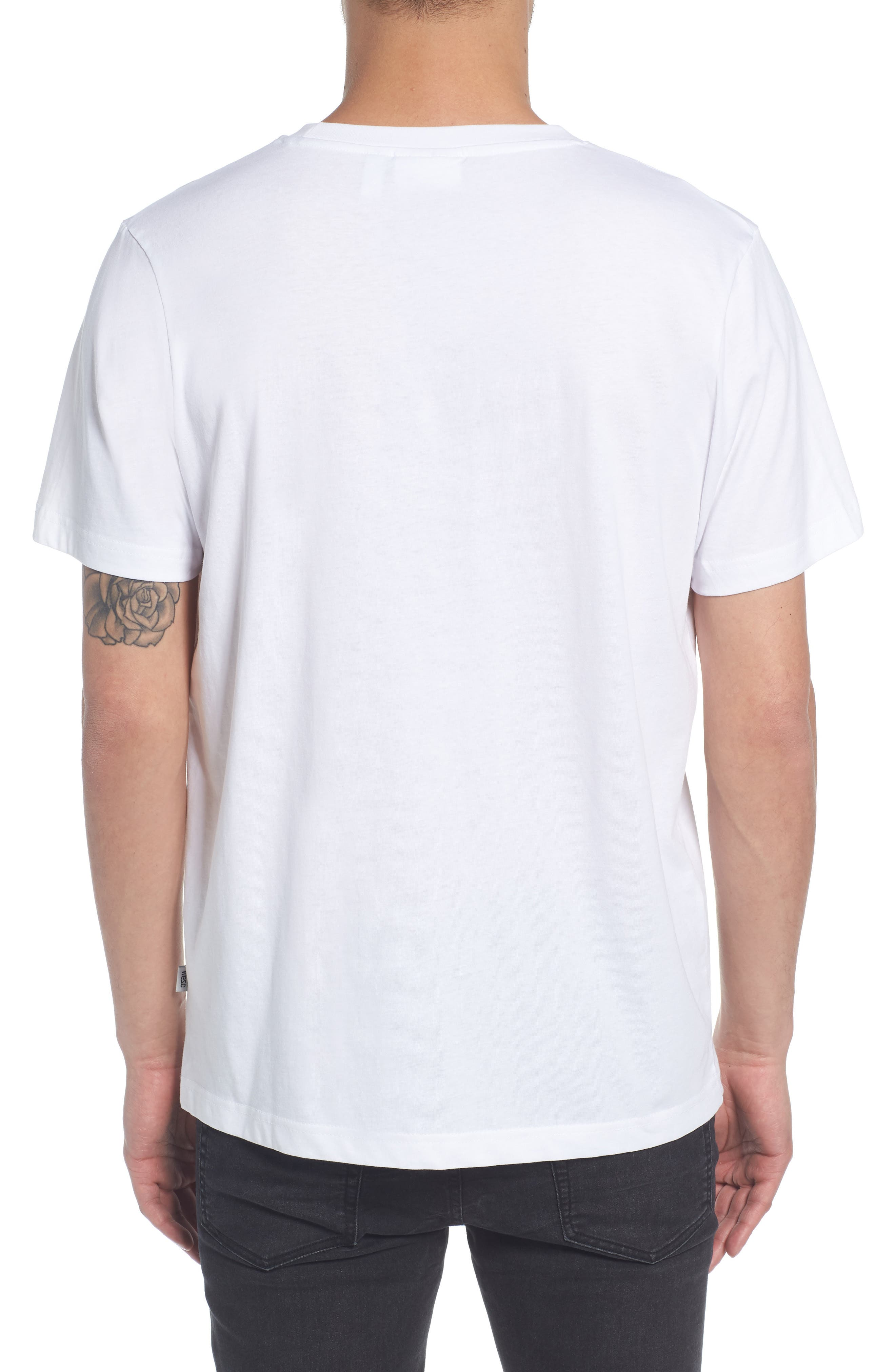Max We Are All Equal T-Shirt,                             Alternate thumbnail 2, color,                             White
