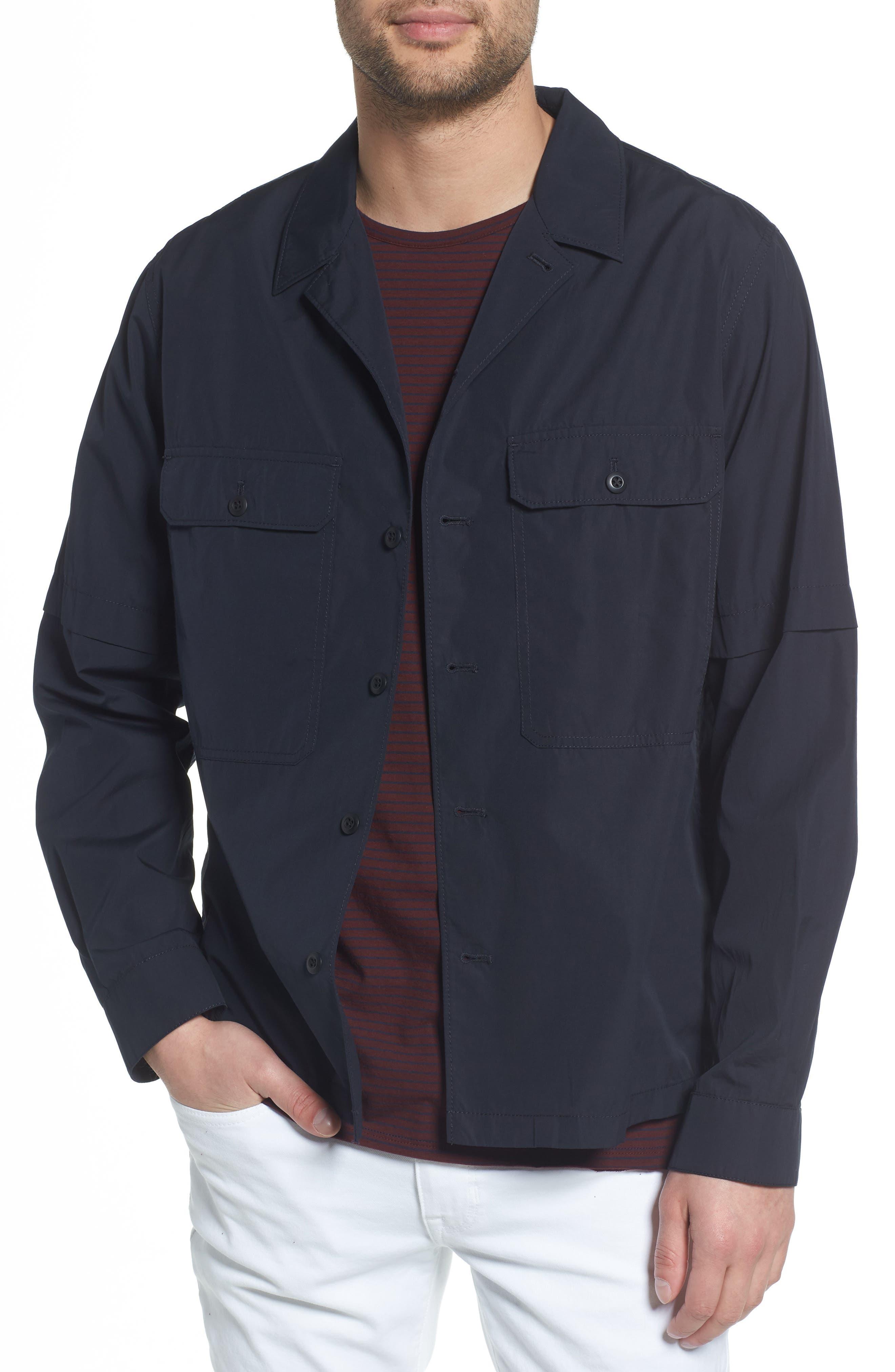 Regular Fit Shirt Jacket,                             Main thumbnail 1, color,                             New Coastal