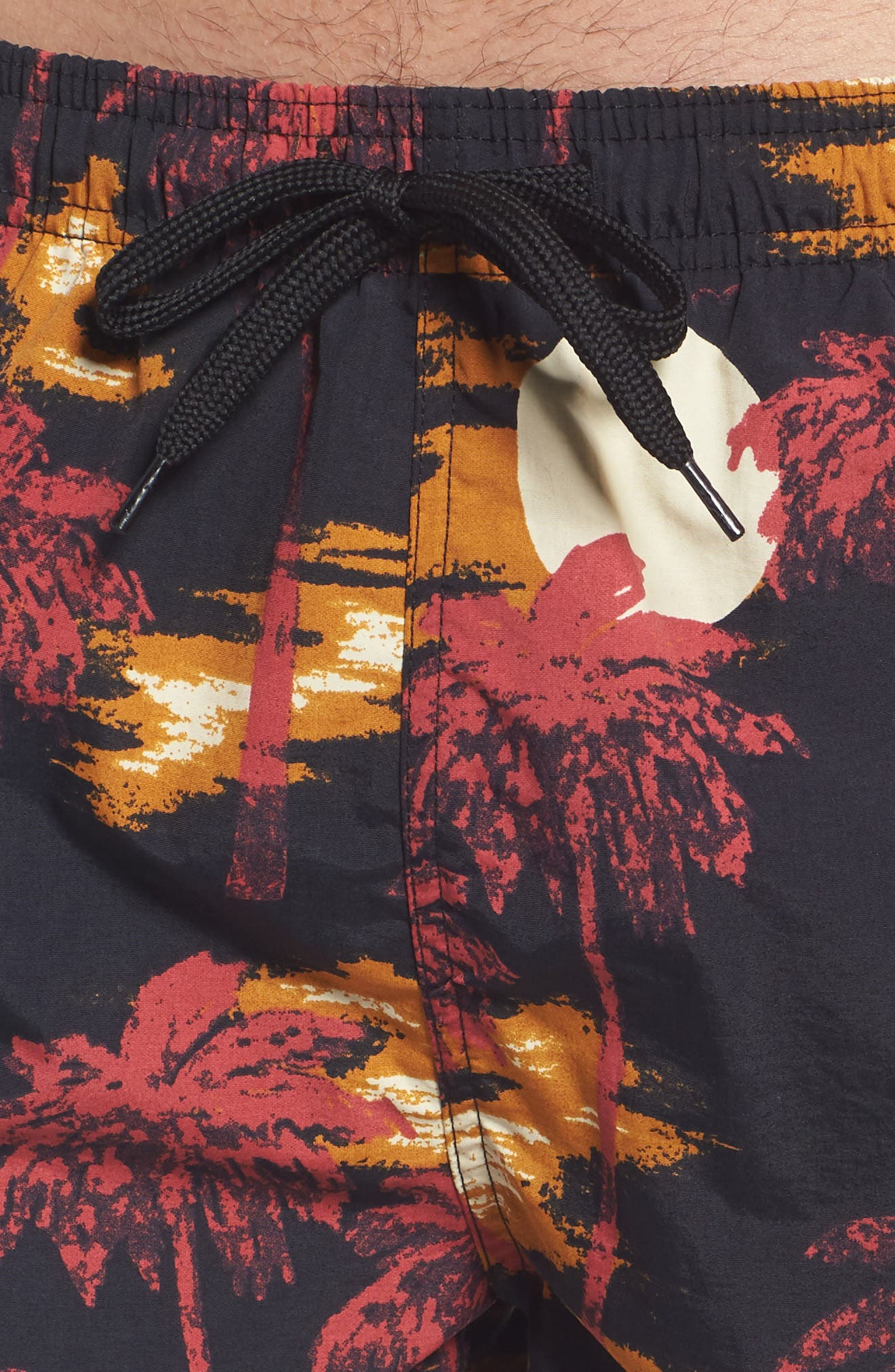 Zack Hawaii Swim Trunks,                             Alternate thumbnail 4, color,                             Hawaii Night
