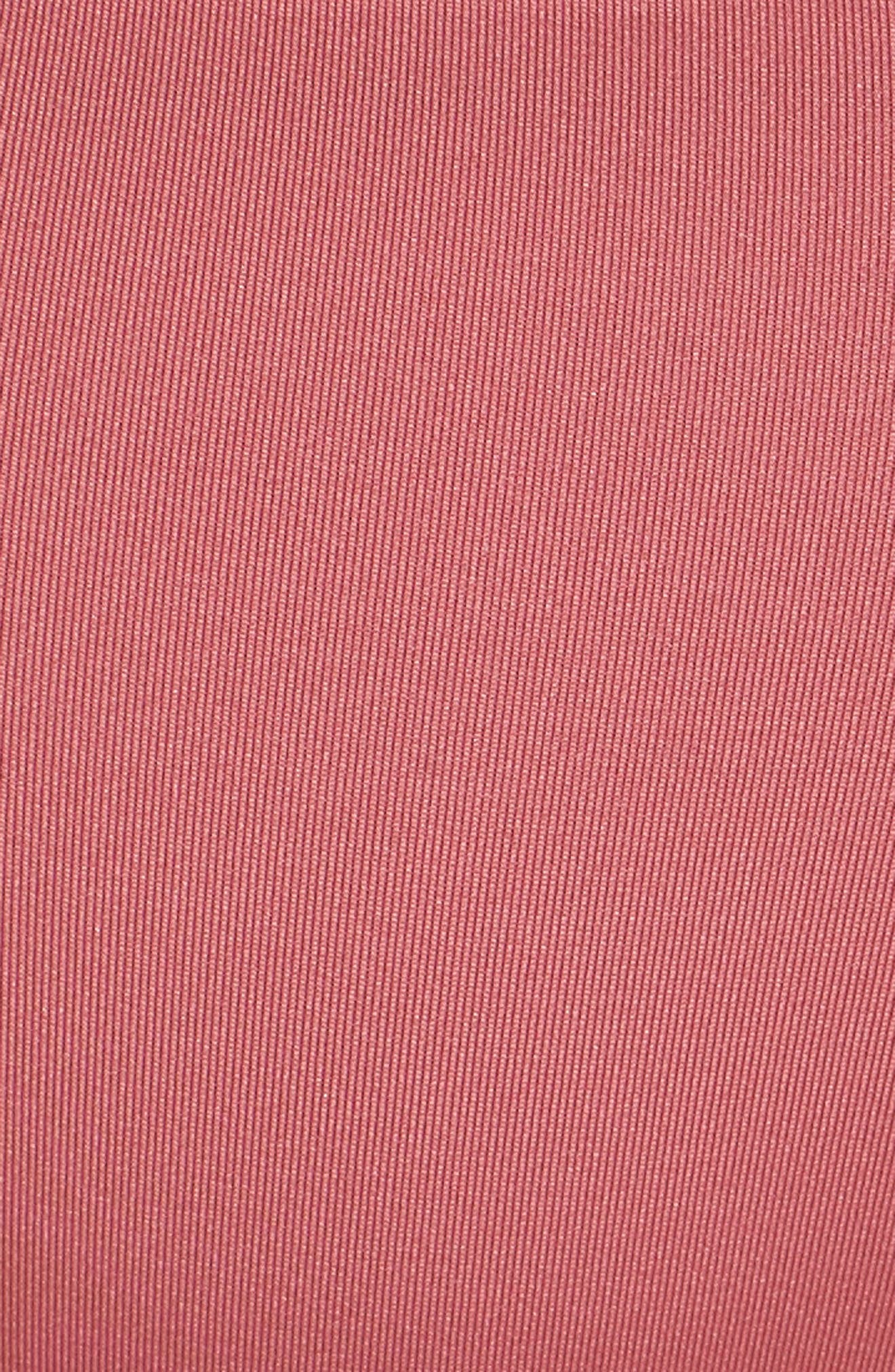 Why Knot Bikini Bottoms,                             Alternate thumbnail 5, color,                             Dusty Rose