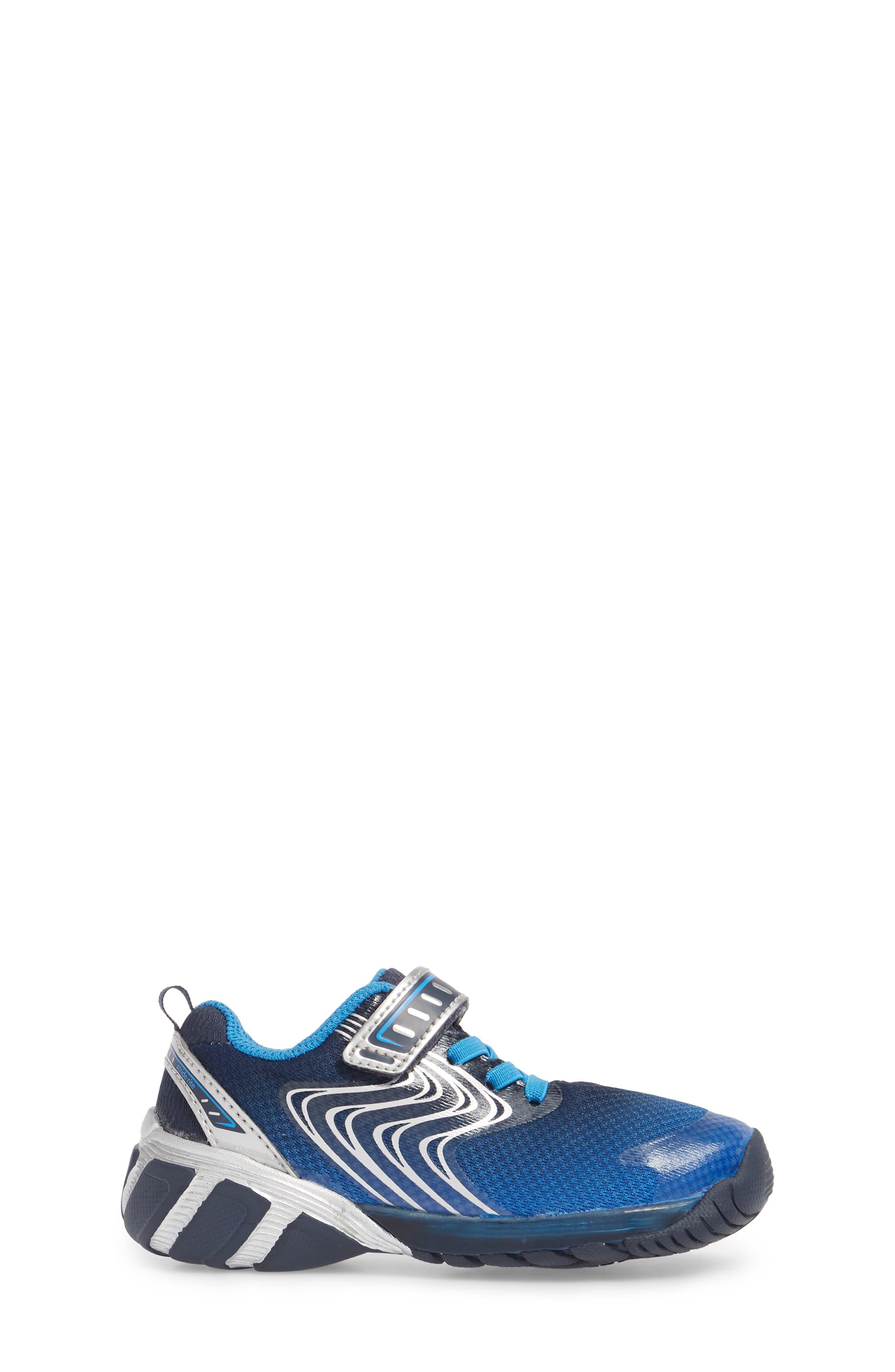 Alternate Image 3  - Stride Rite Lights Lux Light-Up Sneaker (Walker &Toddler)