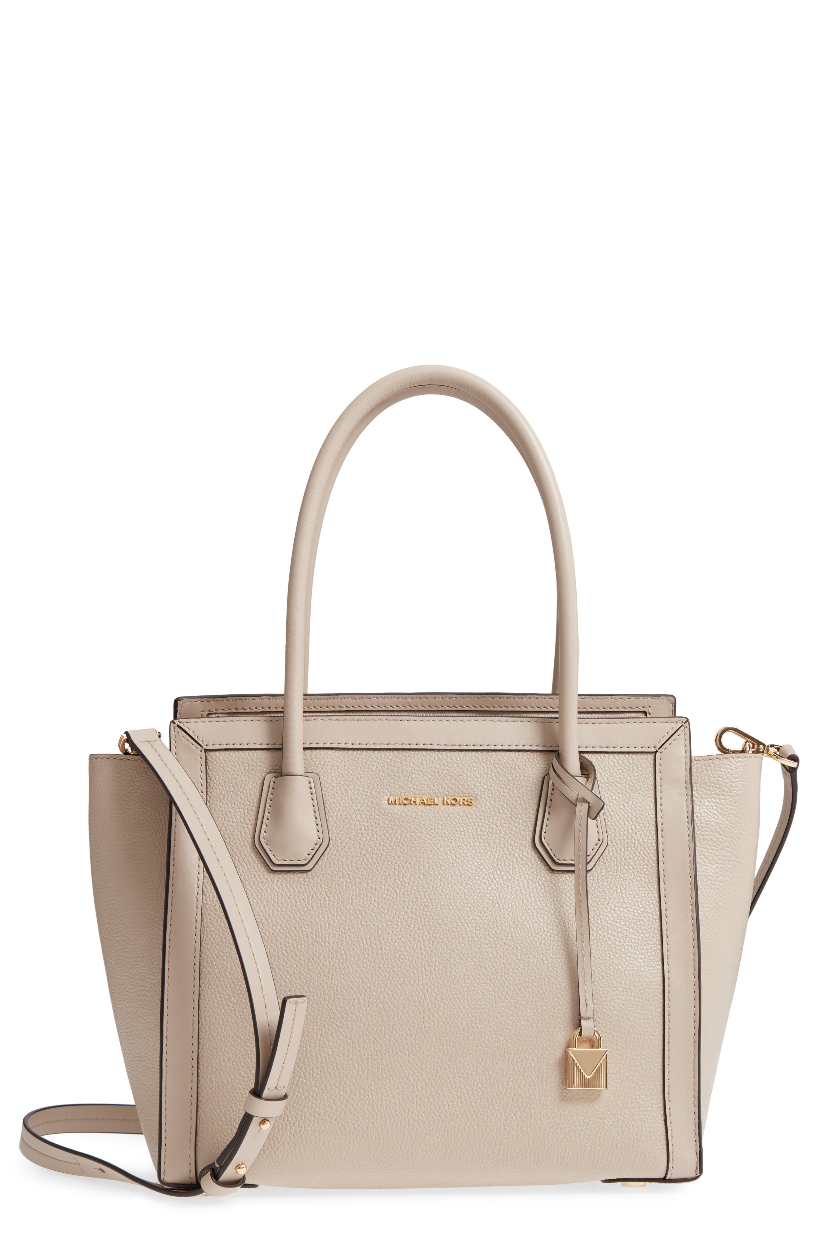 MICHAEL Michael Kors Mercer Studio Leather Tote