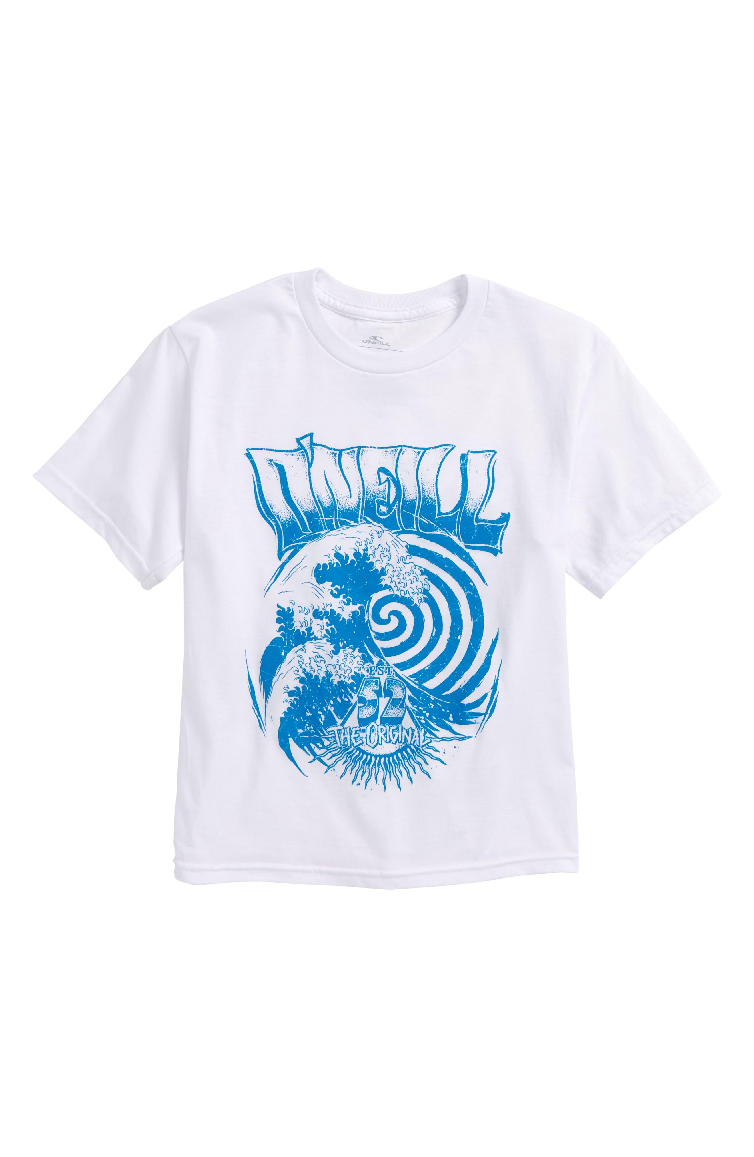 Zone T-Shirt,                             Main thumbnail 1, color,                             White