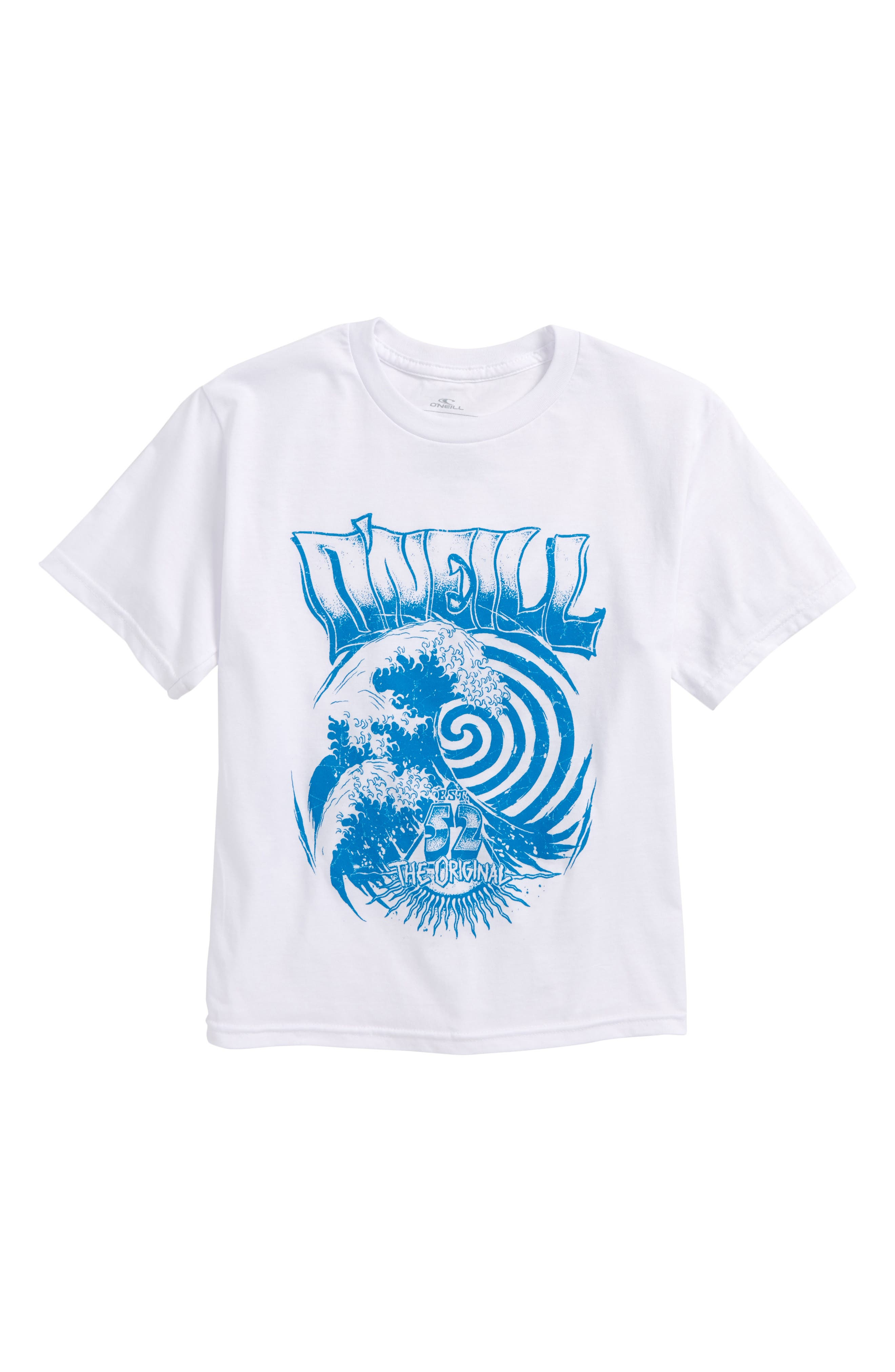 Zone T-Shirt,                         Main,                         color, White