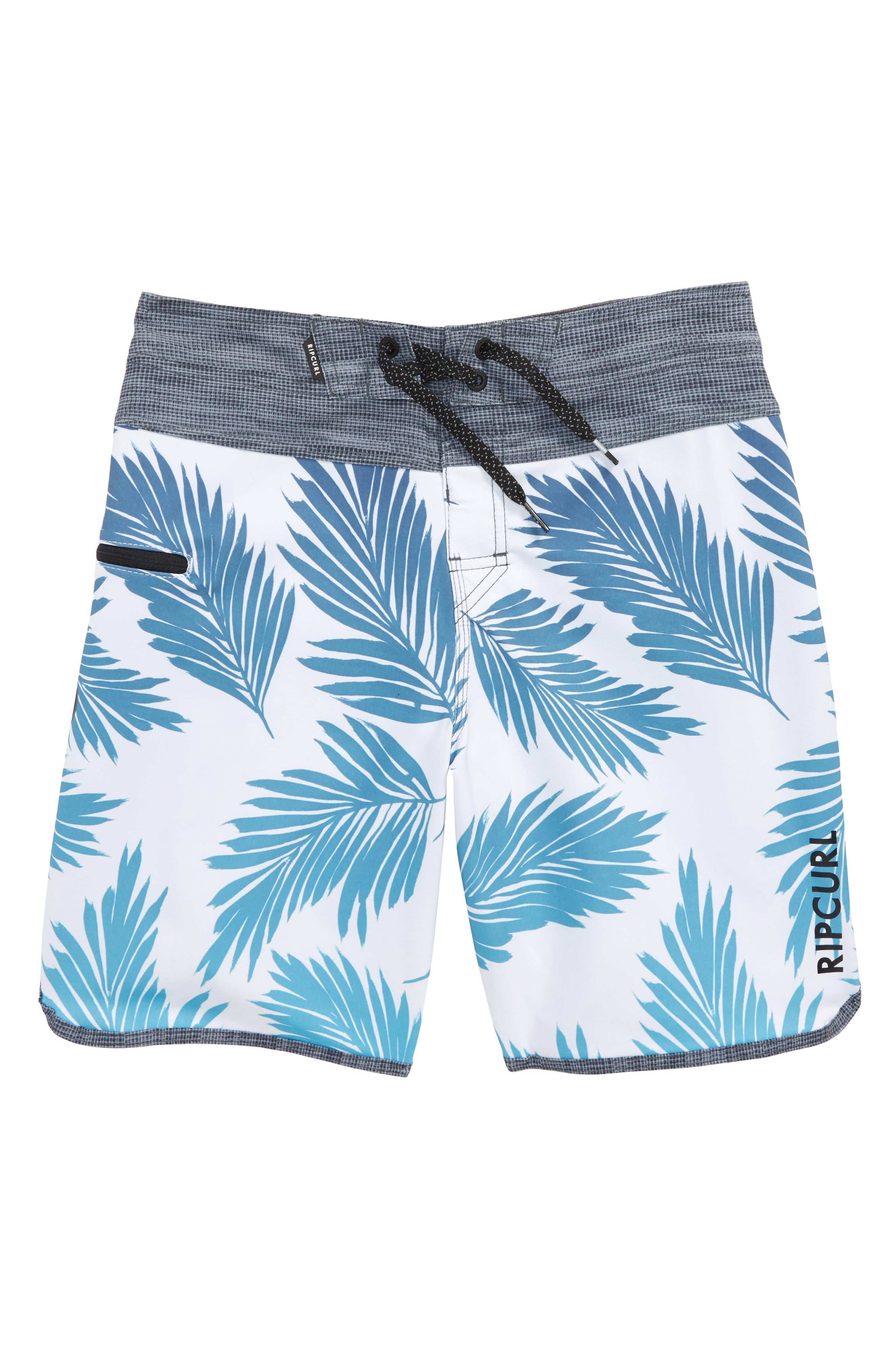 Mirage Mason Rockies Board Shorts,                         Main,                         color, Light Blue
