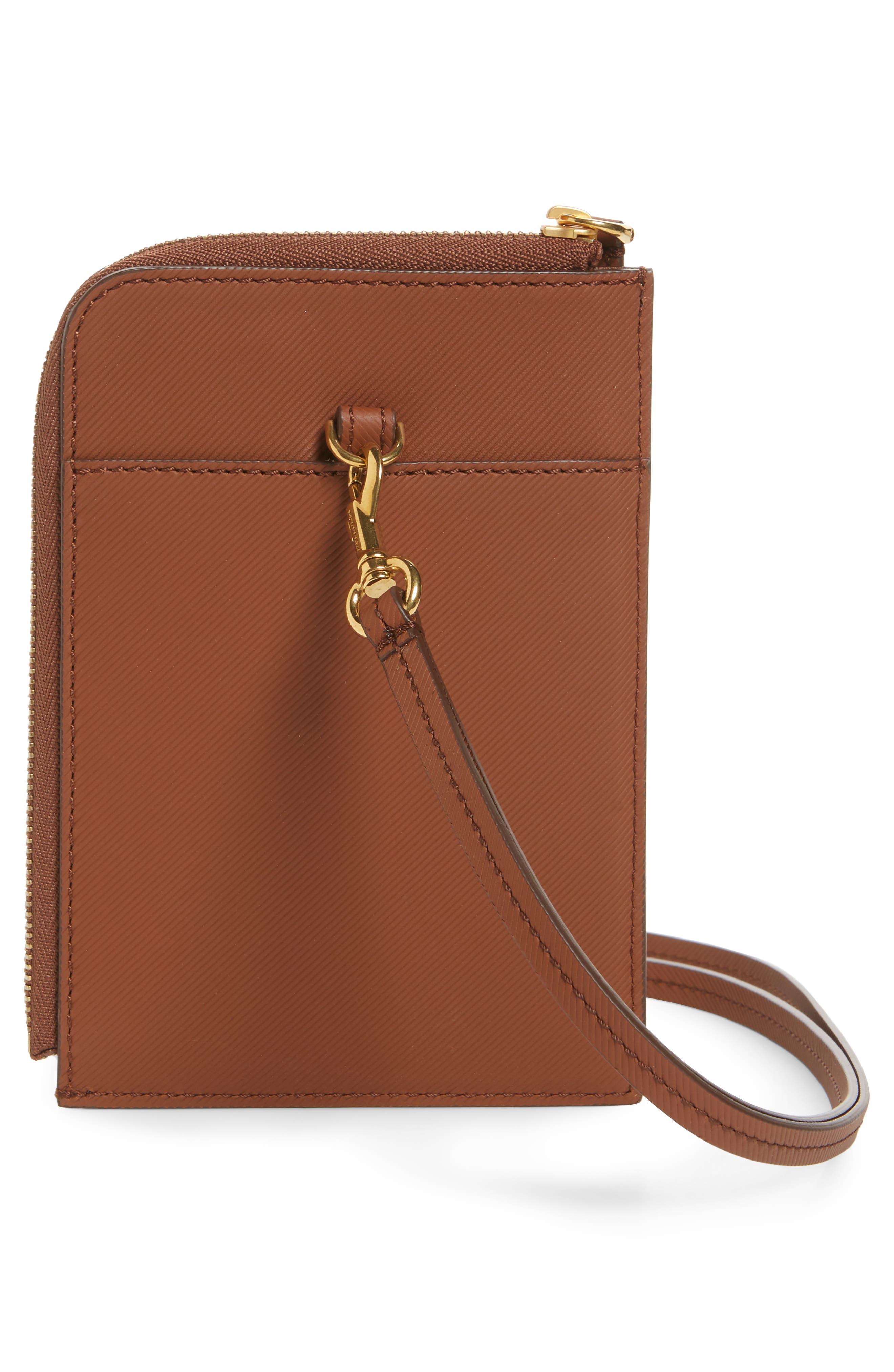 Alternate Image 2  - Burberry Zain Leather Passport Case