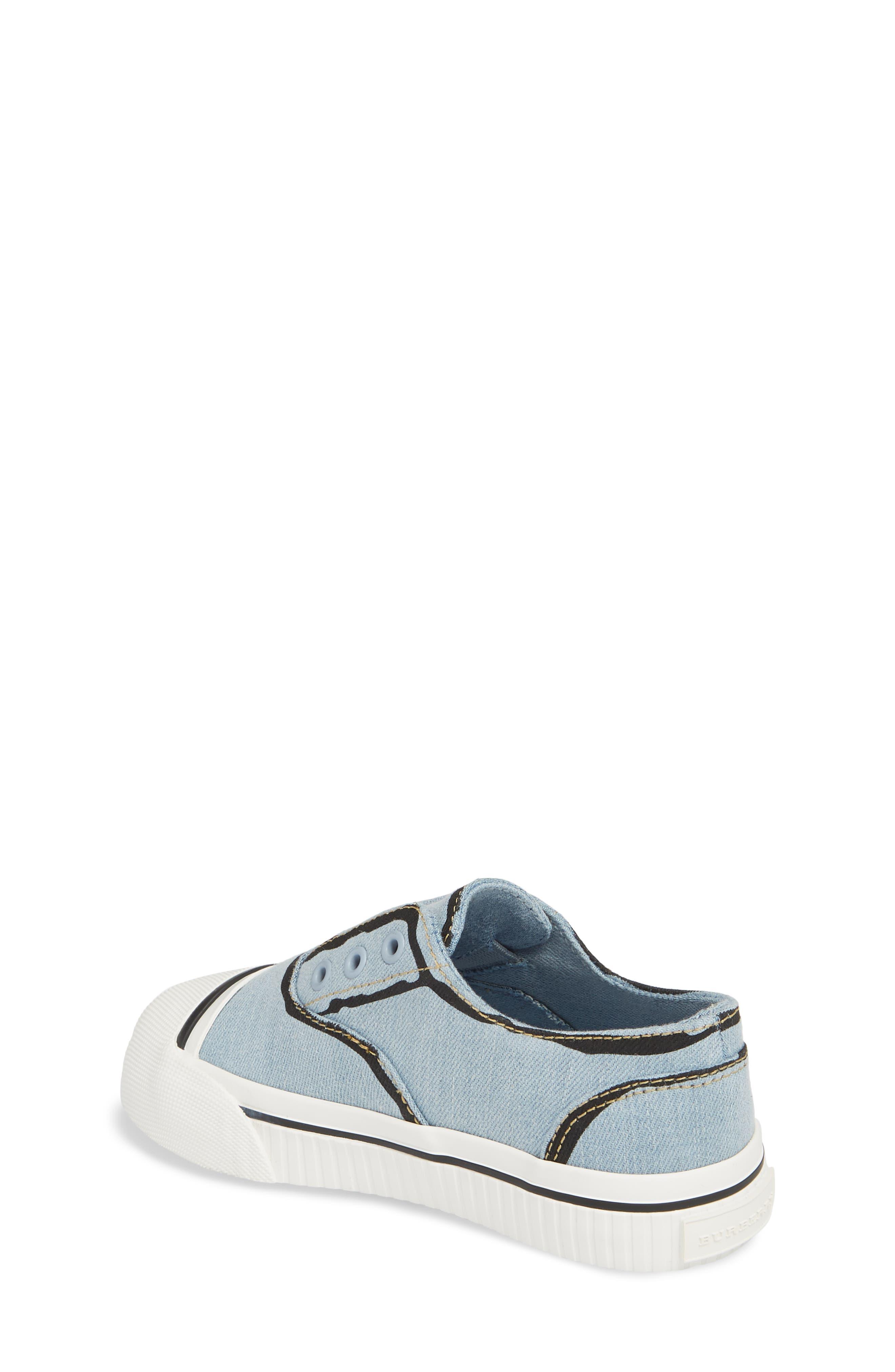 Alternate Image 2  - Burberry Lipton Slip-On Sneaker (Walker & Toddler)