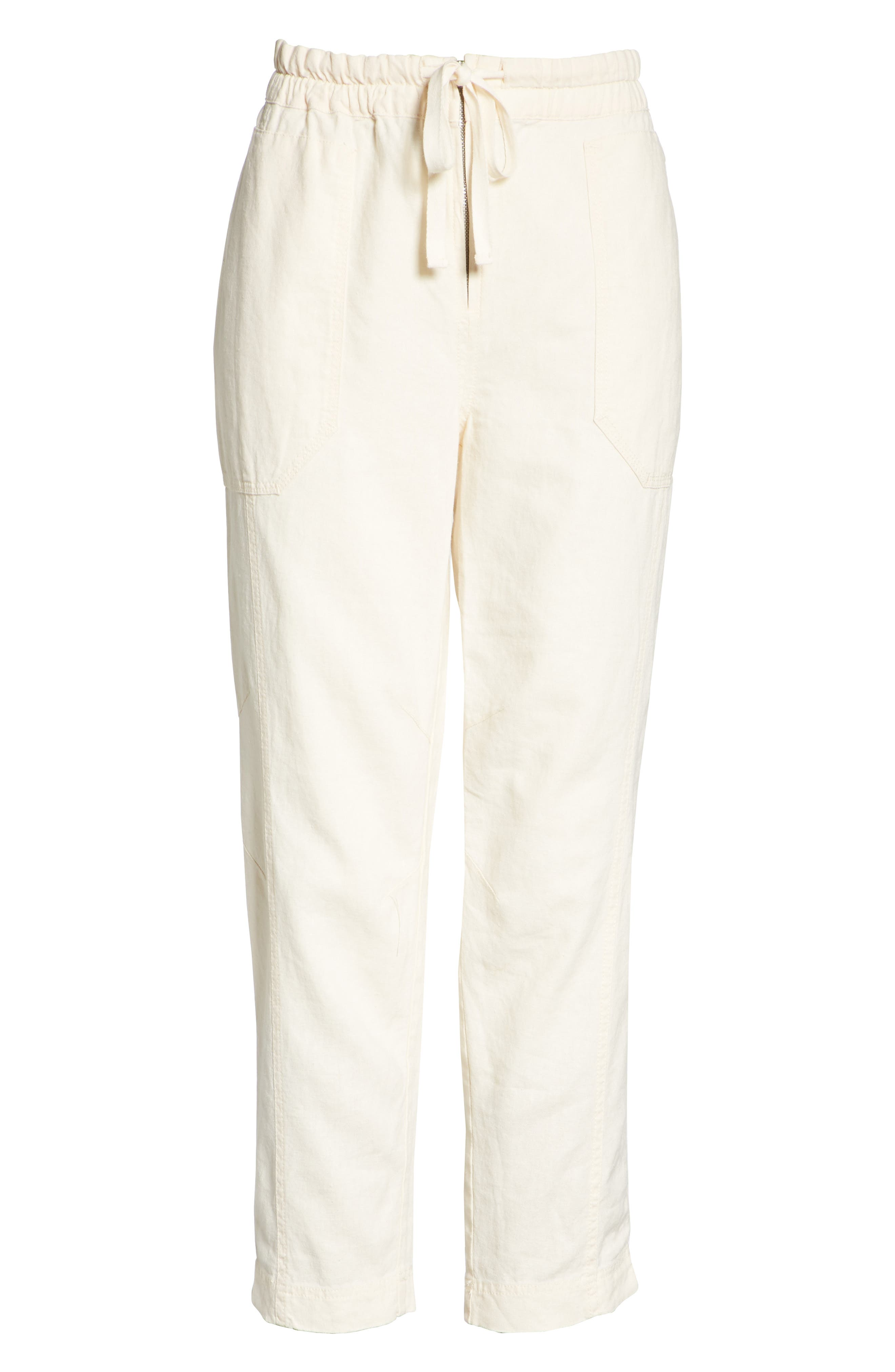 Palmer Skinny Utility Pants,                             Alternate thumbnail 6, color,                             Ivory