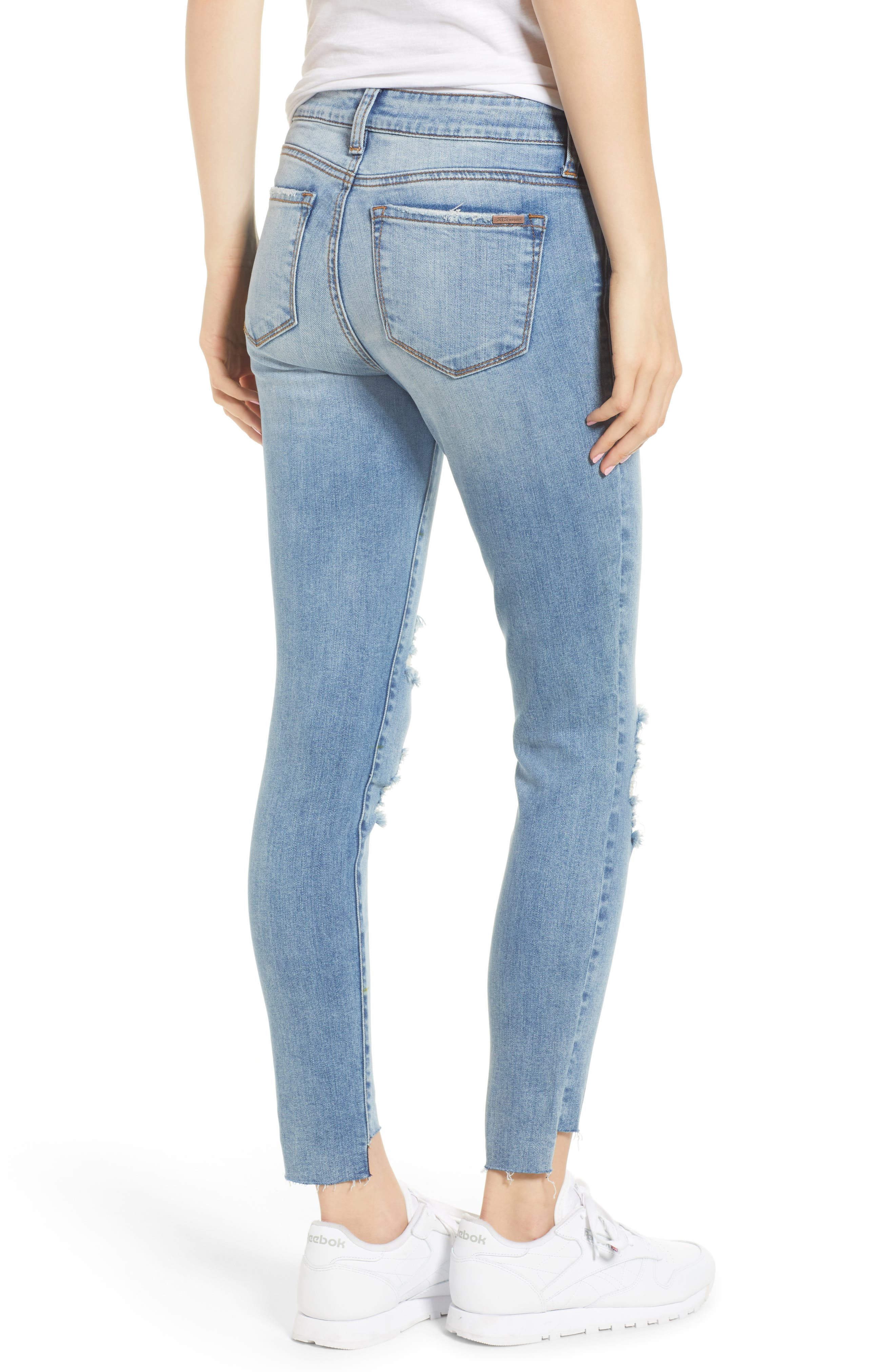 STS Blue Emma Ripped Ankle Skinny Jeans,                             Alternate thumbnail 2, color,                             Nortan W/ Lt Base