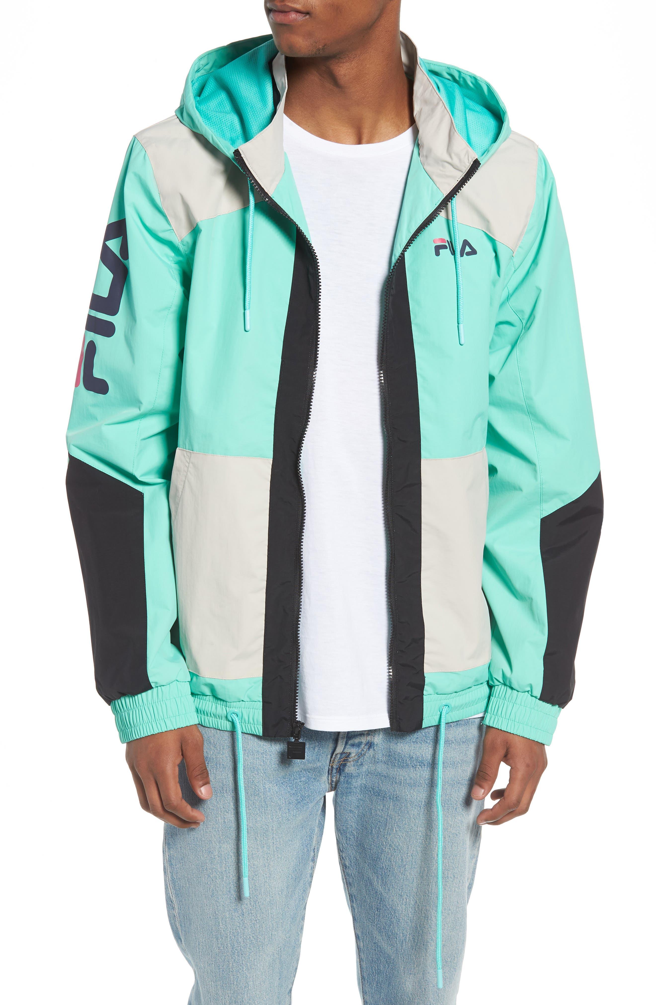 FILA Earl Zip Up Hooded Jacket