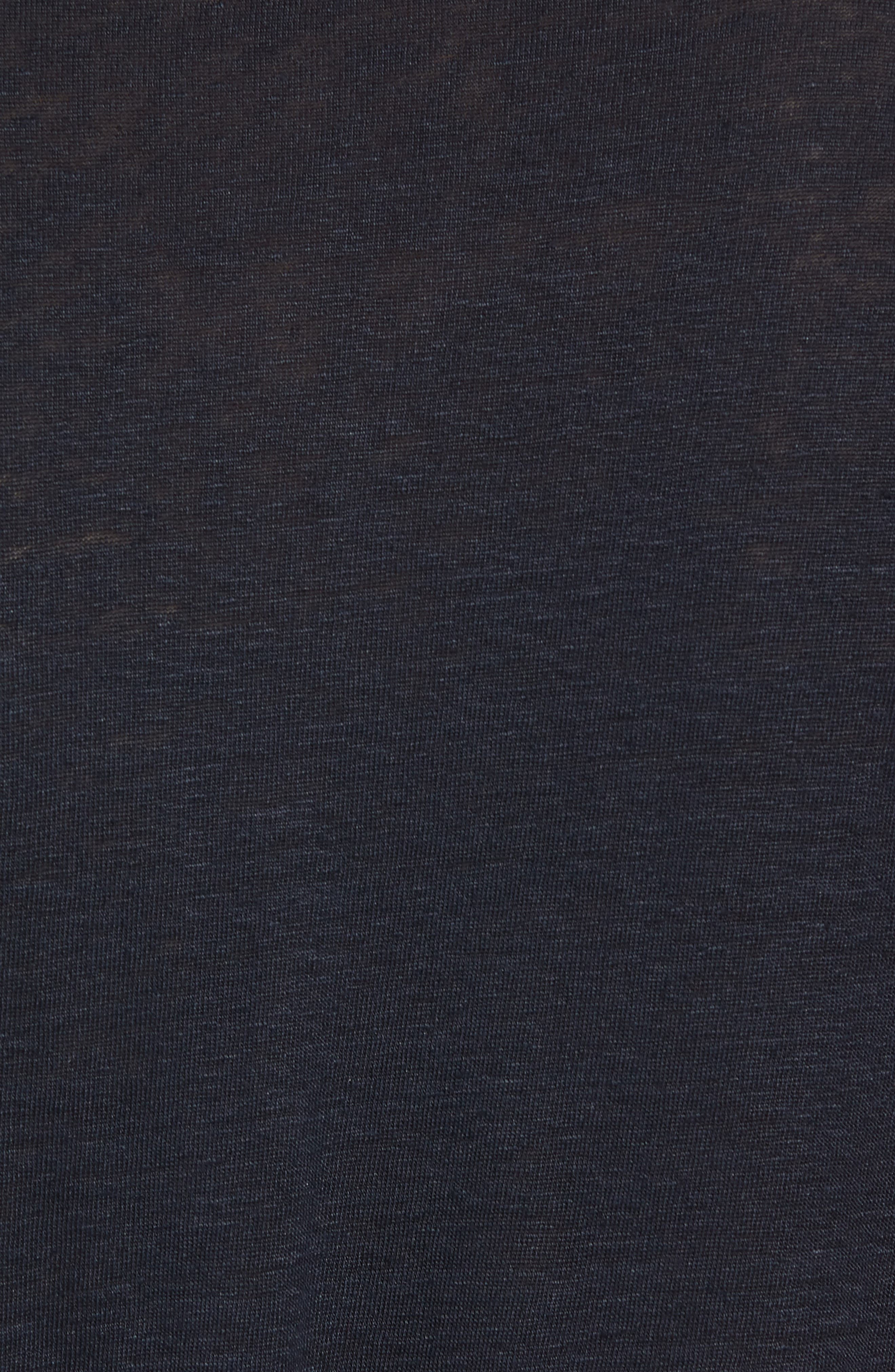 Hugo Boss Regular Fit Paino Linen Polo,                             Alternate thumbnail 5, color,                             Blue