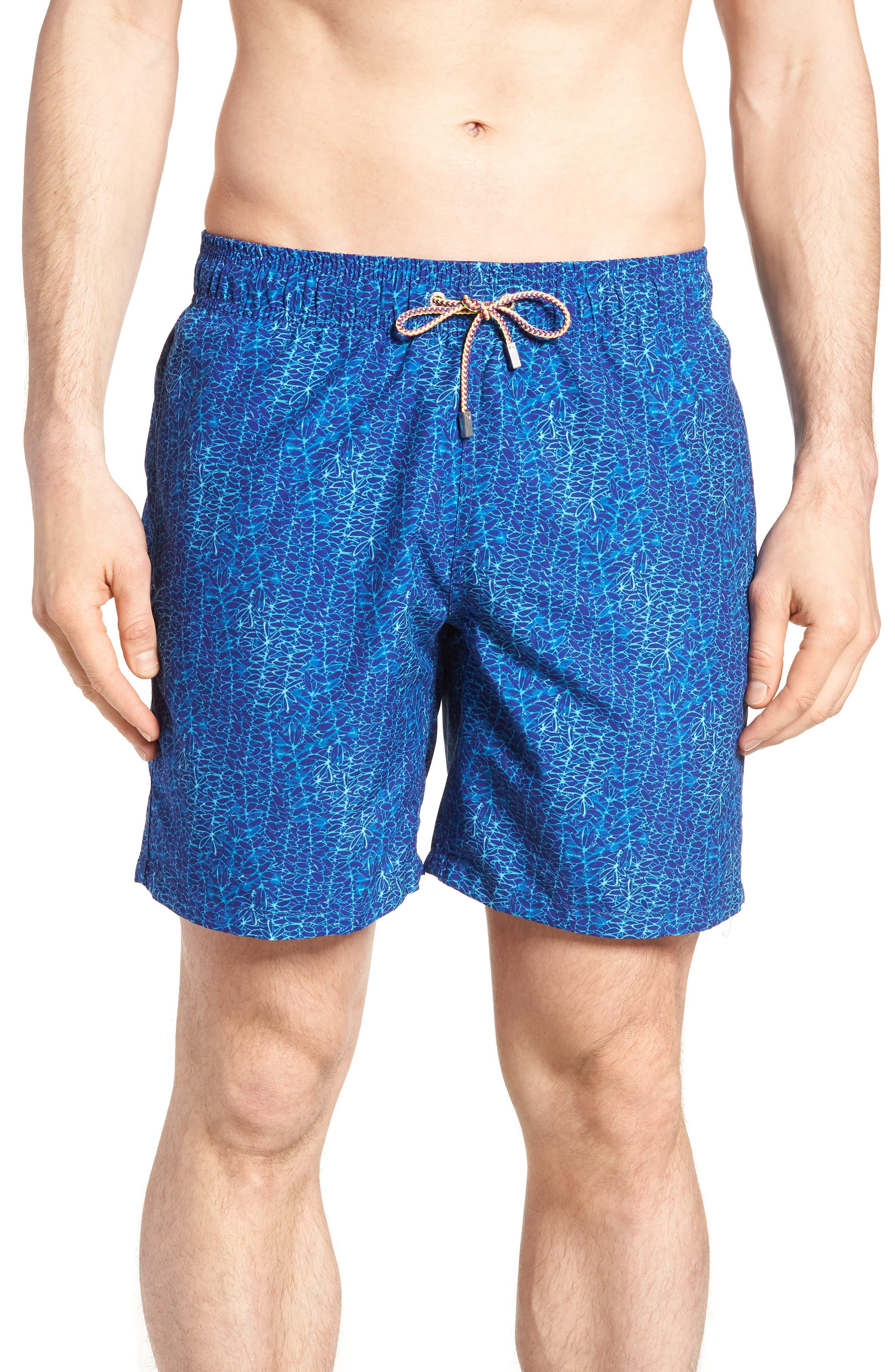 Swim Trunks,                         Main,                         color, Royal