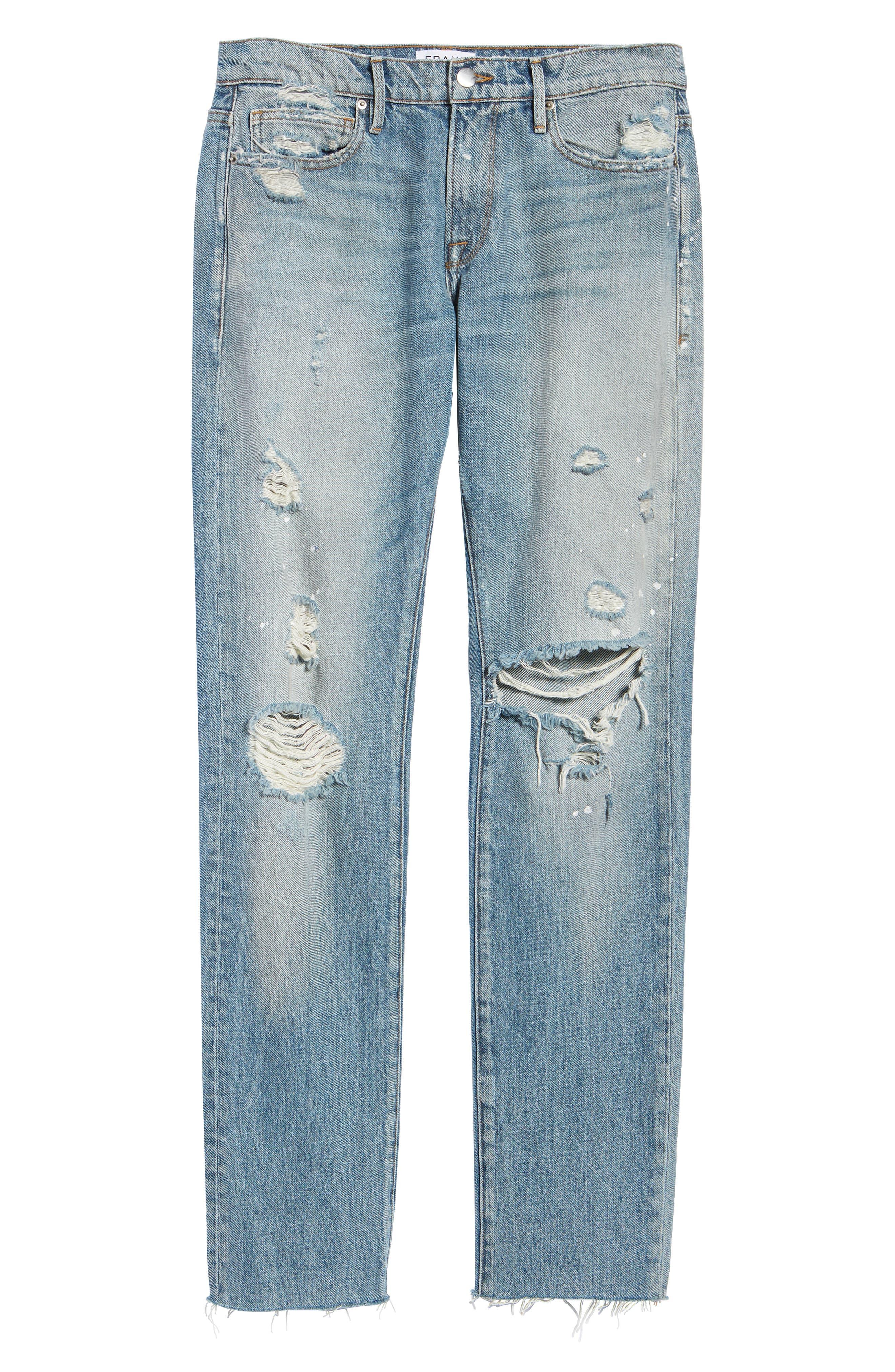 L'Homme Slim Fit Jeans,                             Alternate thumbnail 6, color,                             Bizworth