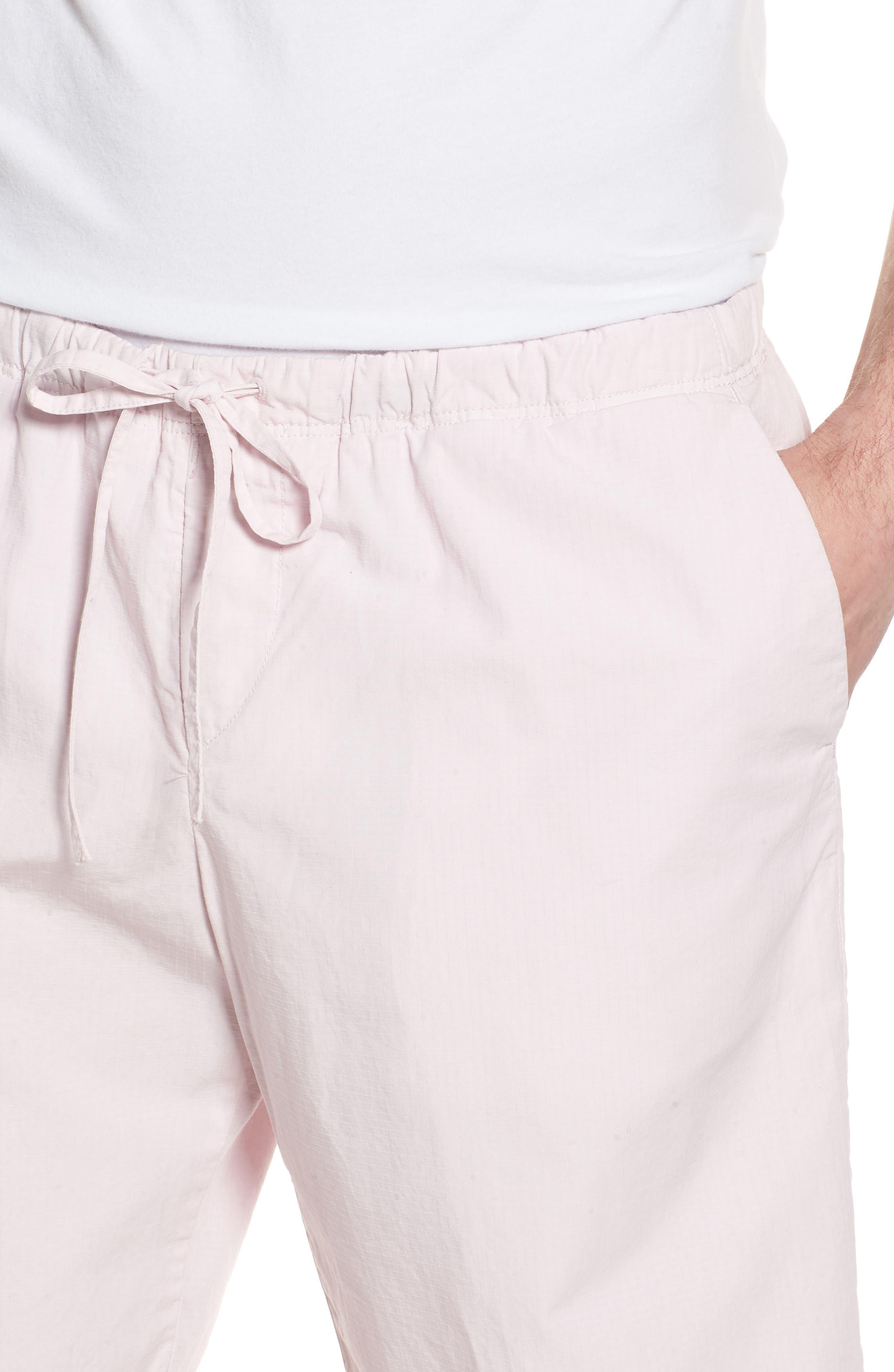 Alternate Image 4  - BOSS Passeo Cotton Shorts
