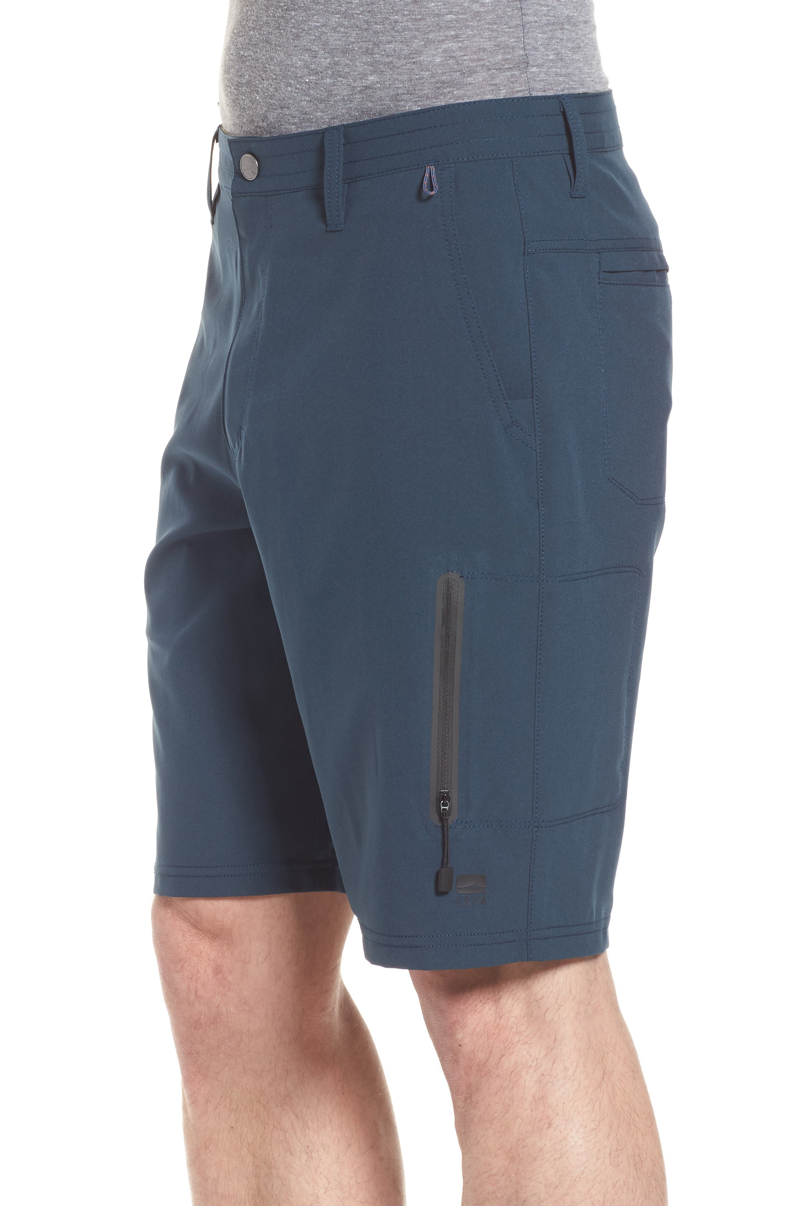 Pipeline Hybrid Shorts,                             Alternate thumbnail 3, color,                             Lake Blue