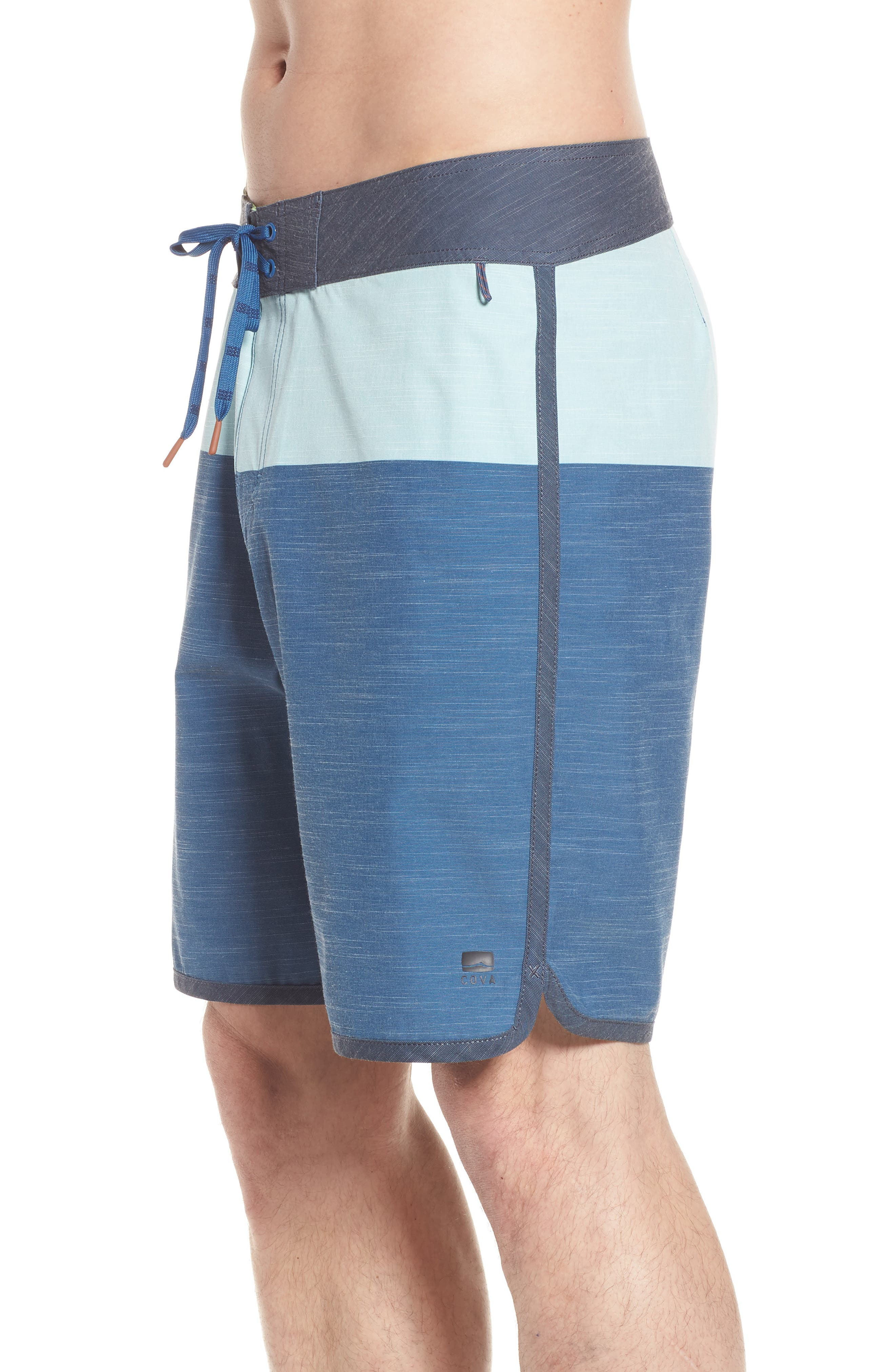 Beachcomber Board Shorts,                             Alternate thumbnail 3, color,                             Ocean Blue
