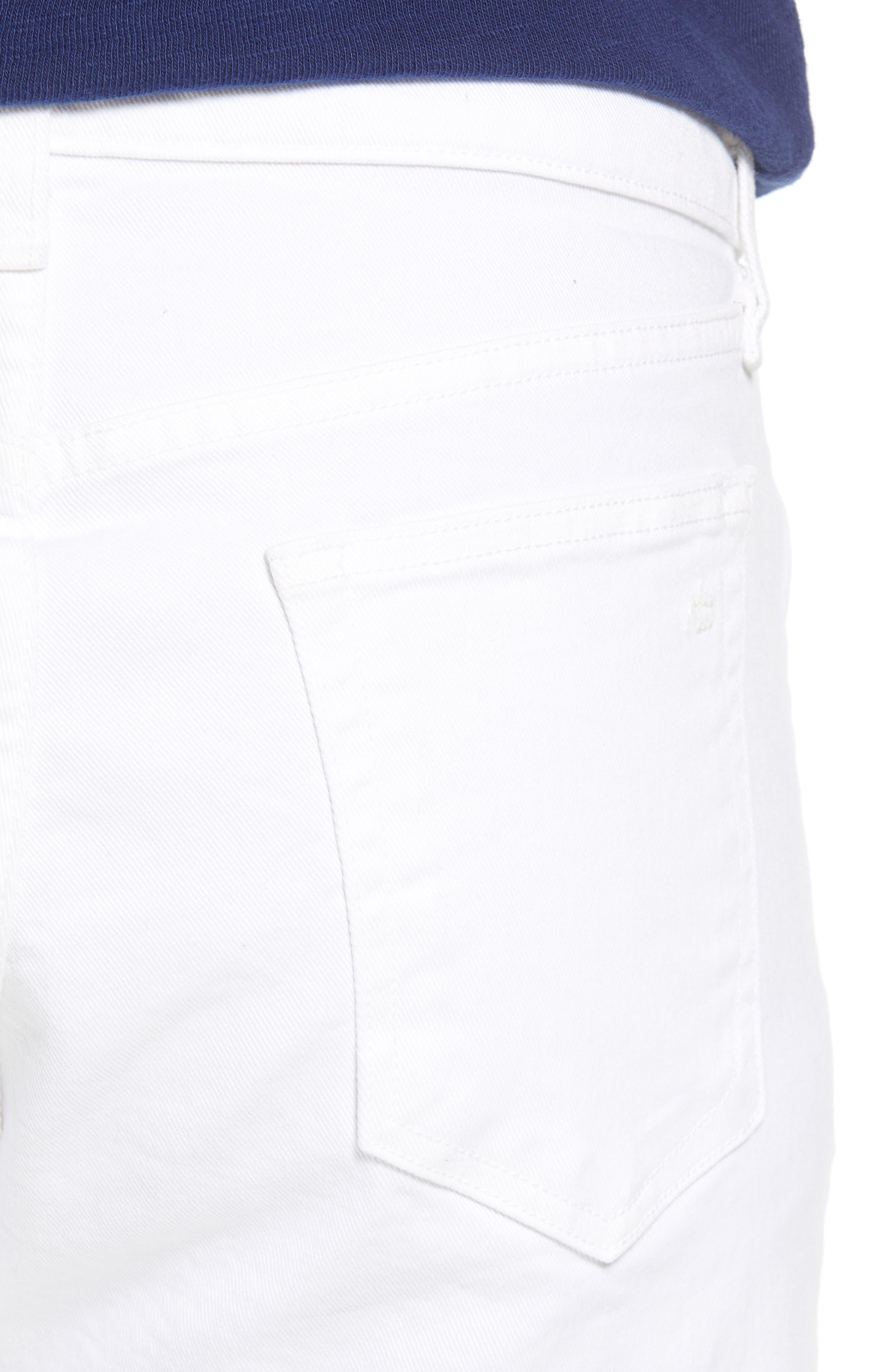 Fit 2 Slim Fit Jeans,                             Alternate thumbnail 4, color,                             White