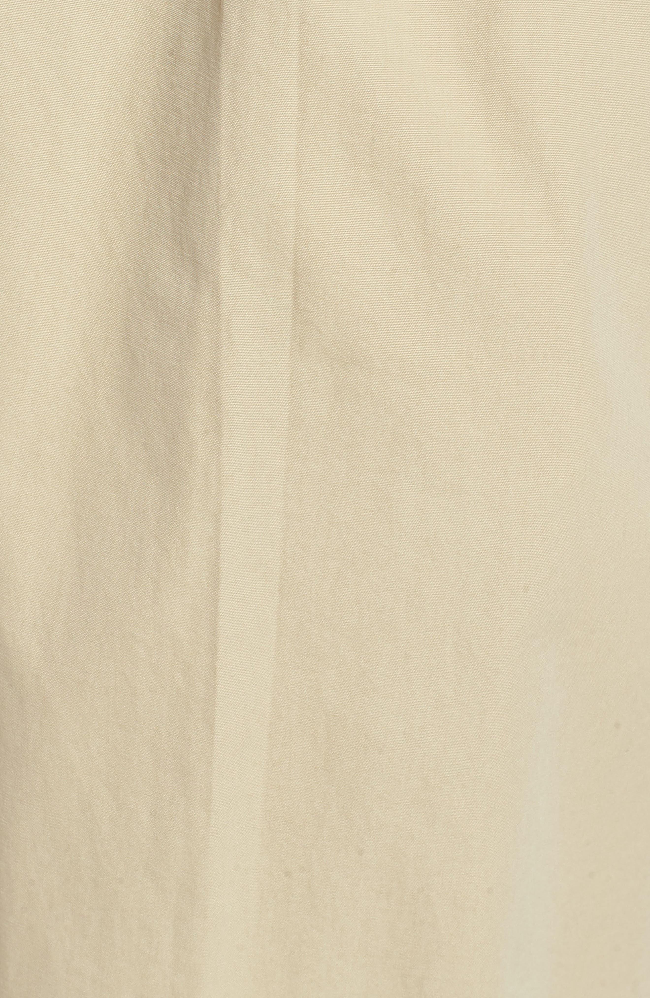 M2 Classic Fit Pleated Tropical Cotton Poplin Pants,                             Alternate thumbnail 5, color,                             Khaki