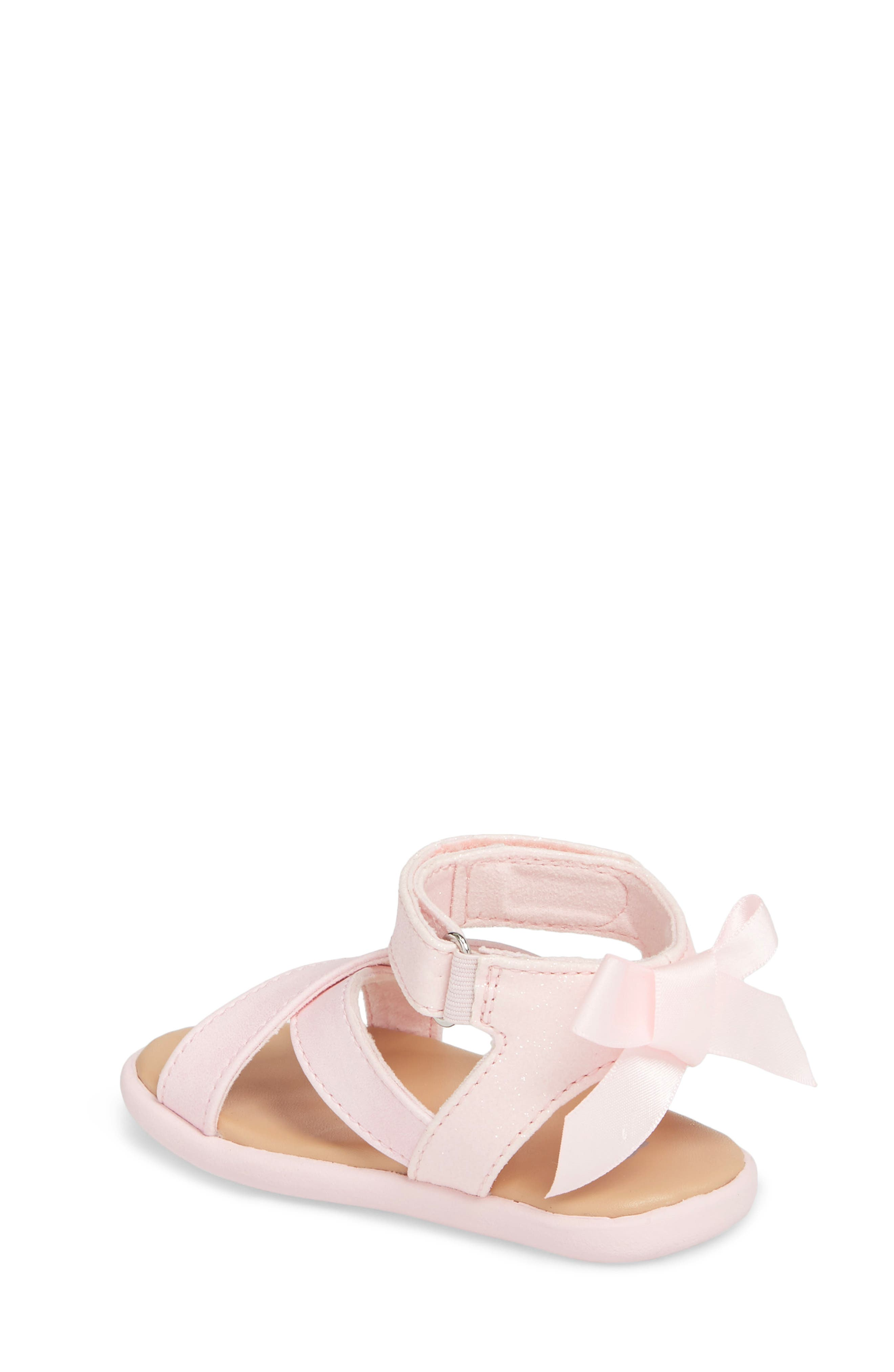 Alternate Image 2  - UGG® Maggiepie Sparkles Sandal (Baby & Walker)