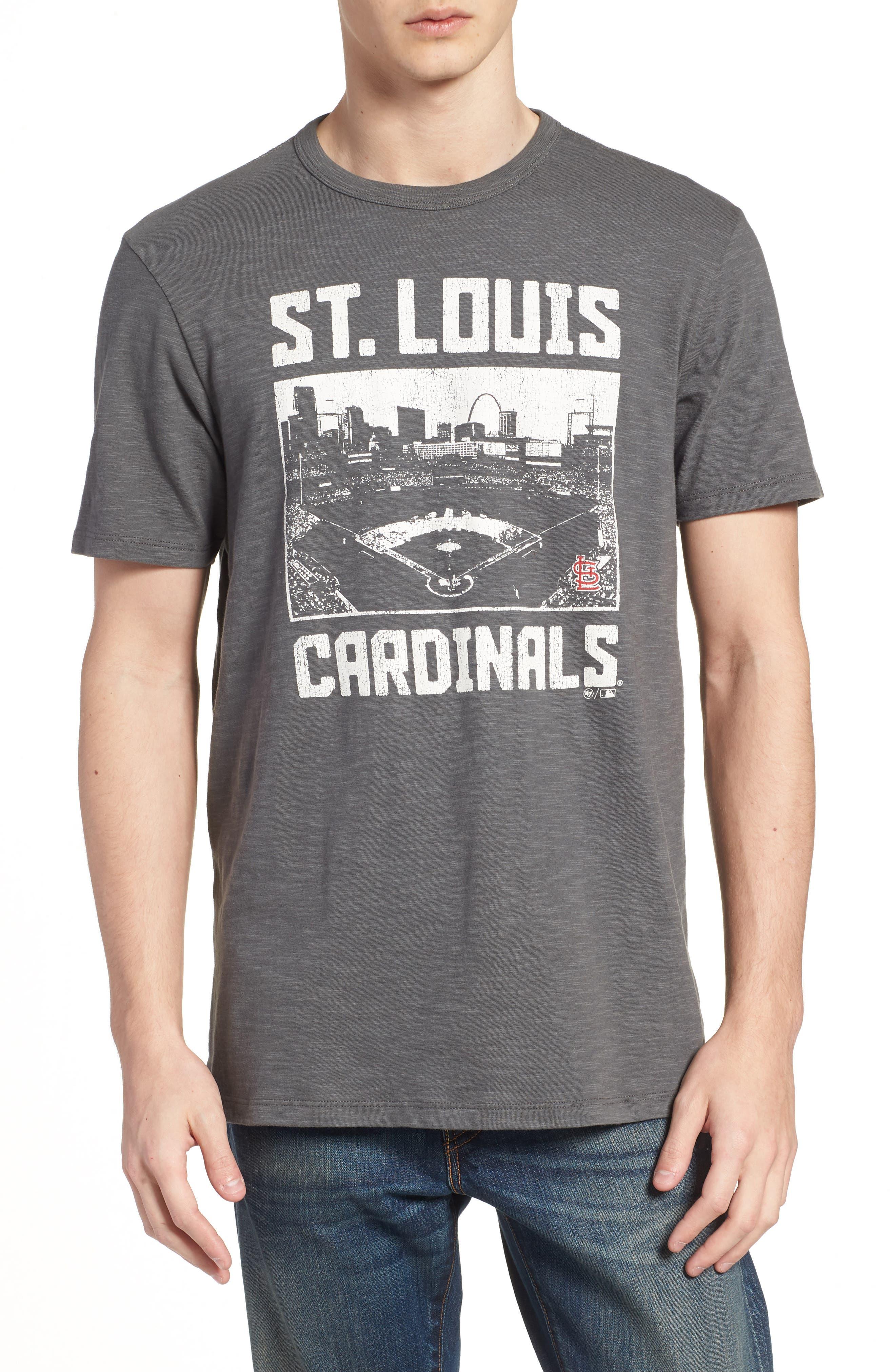MLB Overdrive Scrum St. Louis Cardinals T-Shirt,                             Main thumbnail 1, color,                             Submarine
