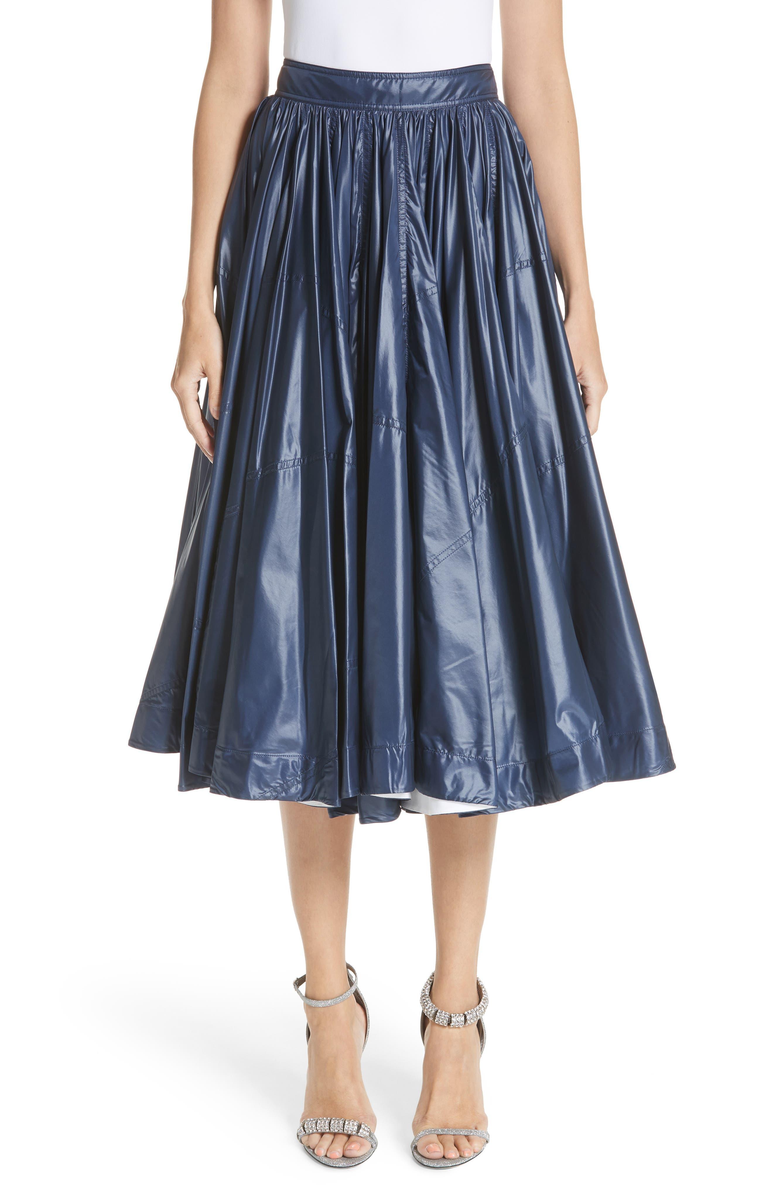 Calvin Klein 205W39NYC Nylon Tent Skirt