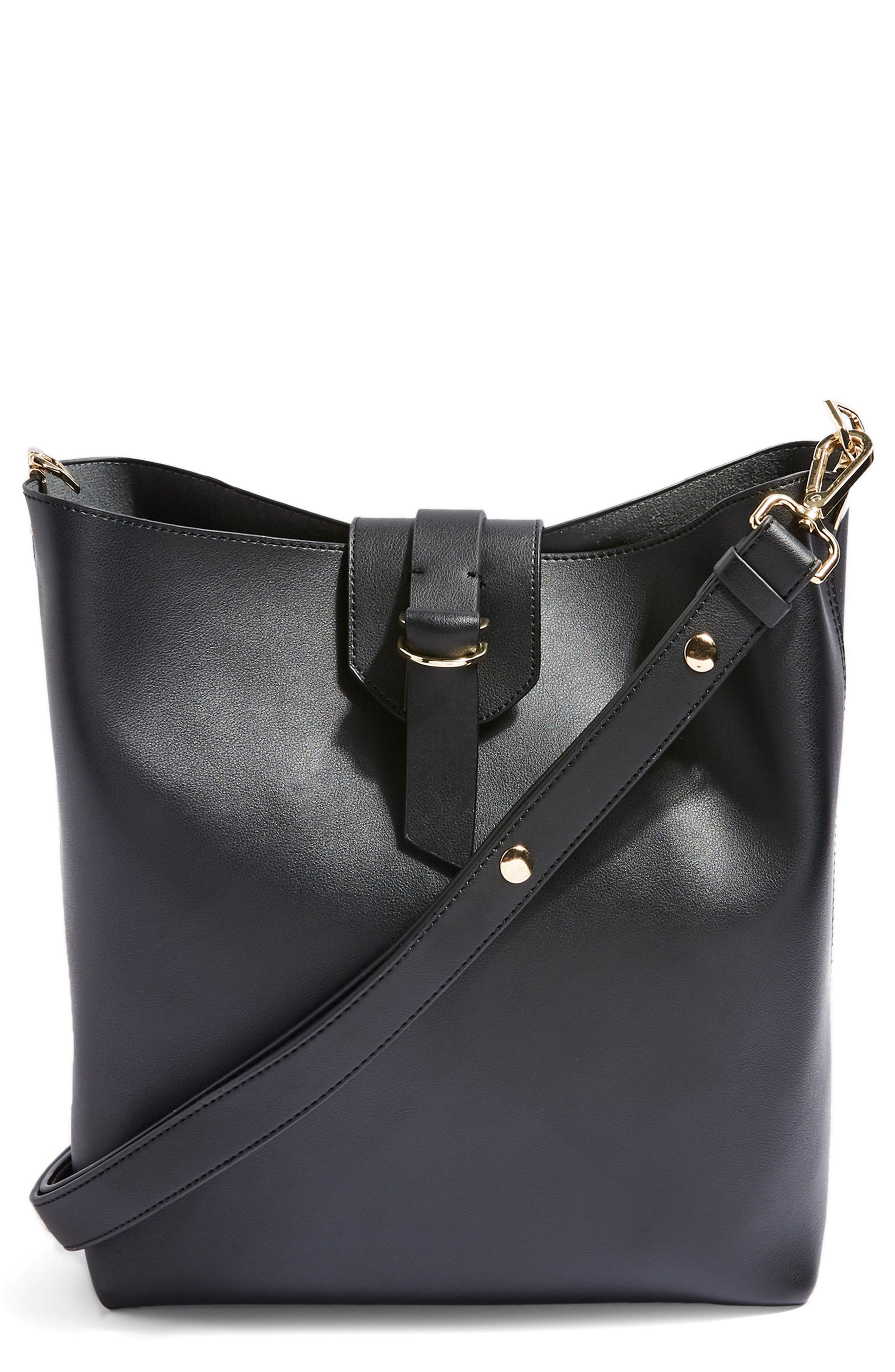 Hampton Hobo Bag,                         Main,                         color, Black