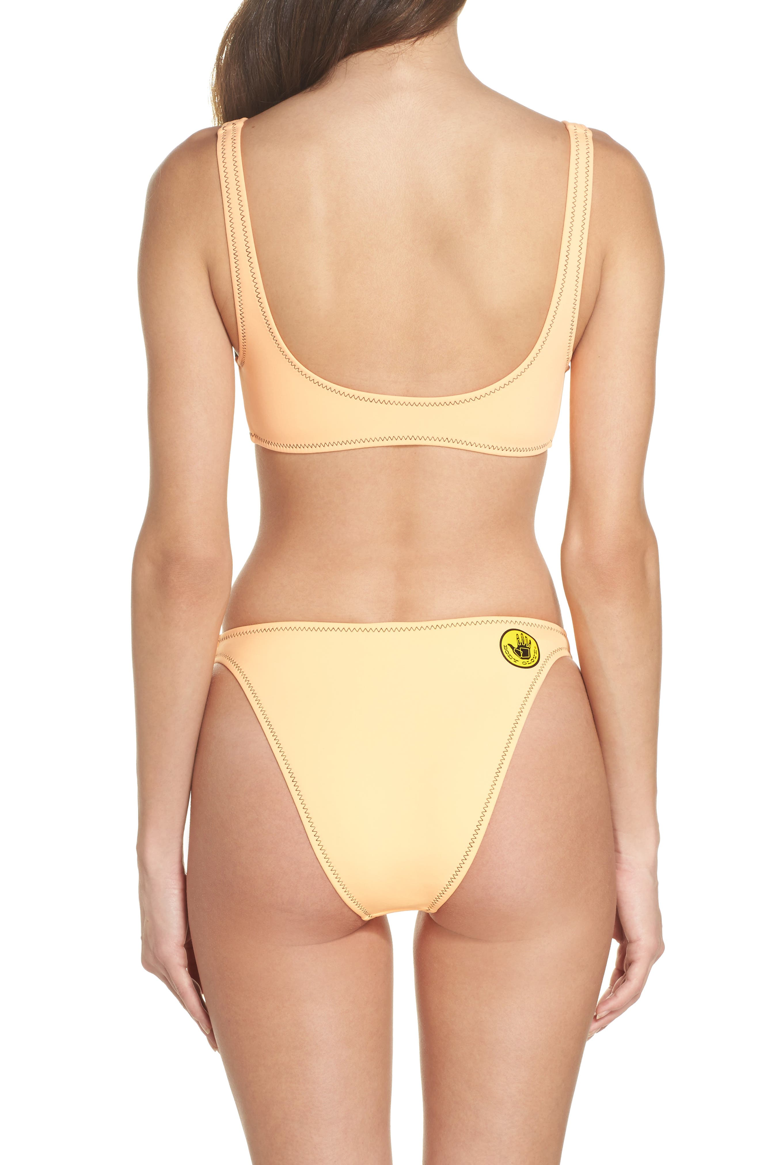 Straight Up Bikini Bottoms,                             Alternate thumbnail 6, color,                             Mango