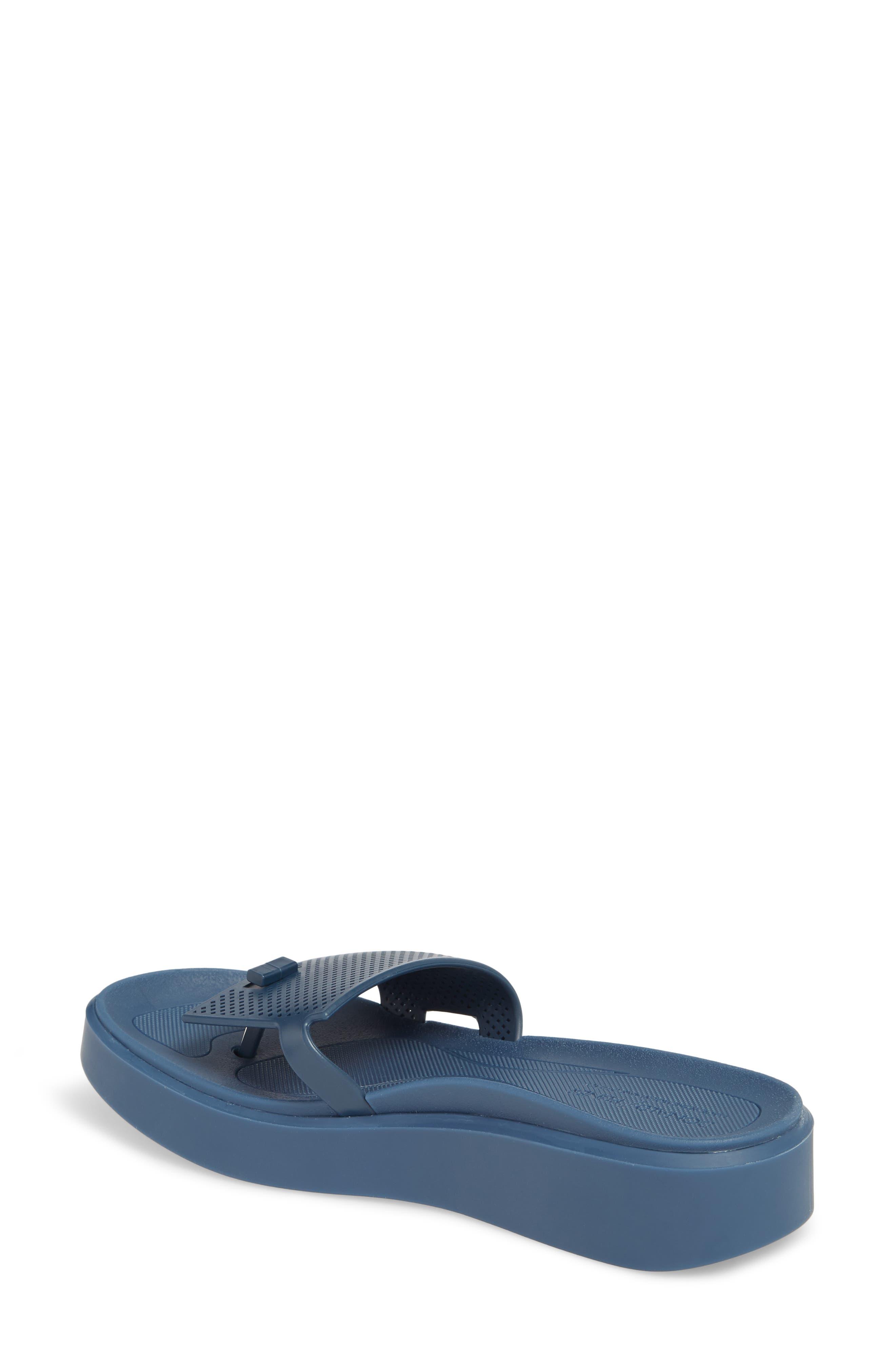 Bondi Jelly Slide Sandal,                             Alternate thumbnail 2, color,                             Navy