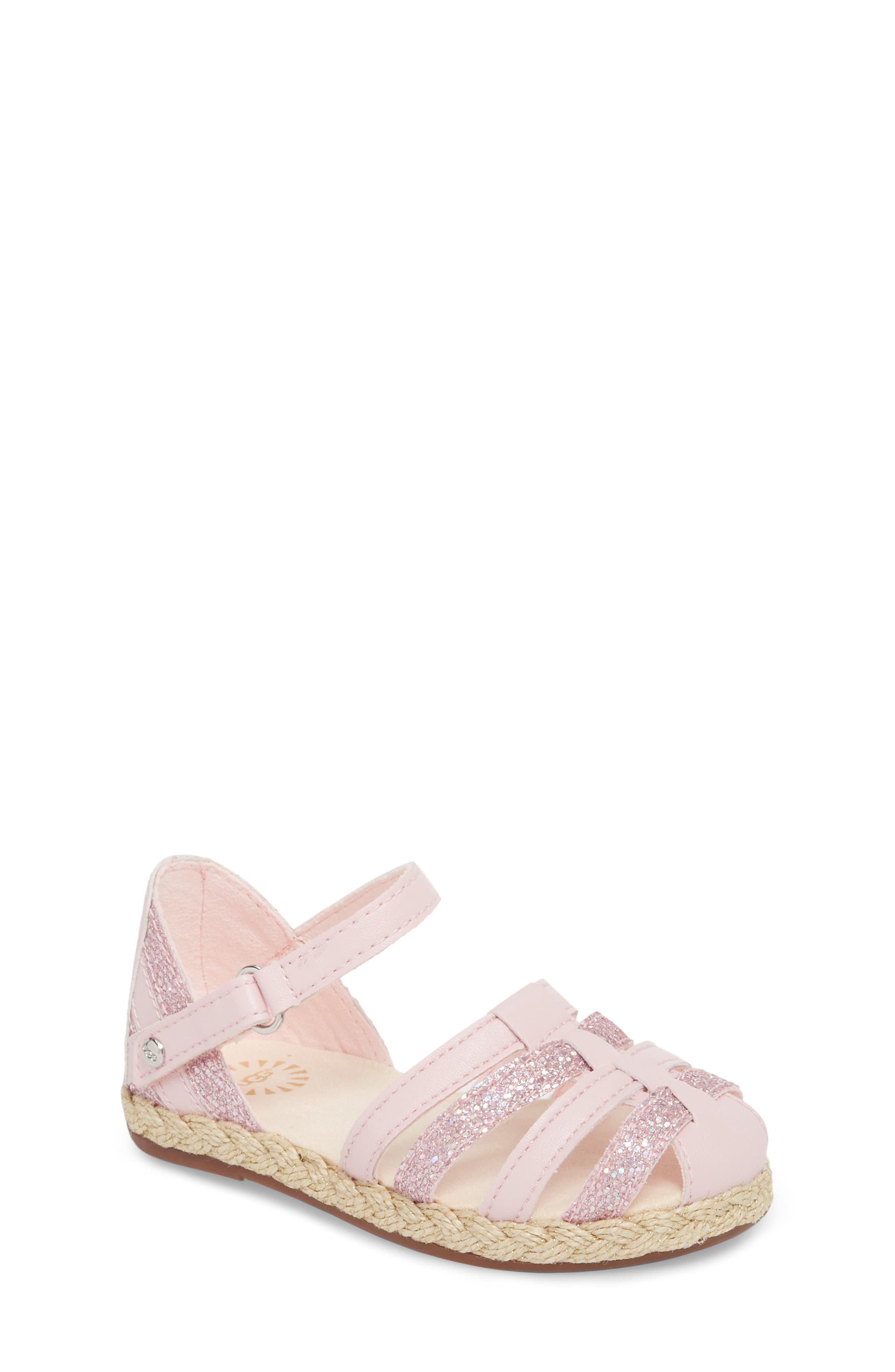 Matilde Espadrille Sandal,                             Main thumbnail 1, color,                             Seashell Pink
