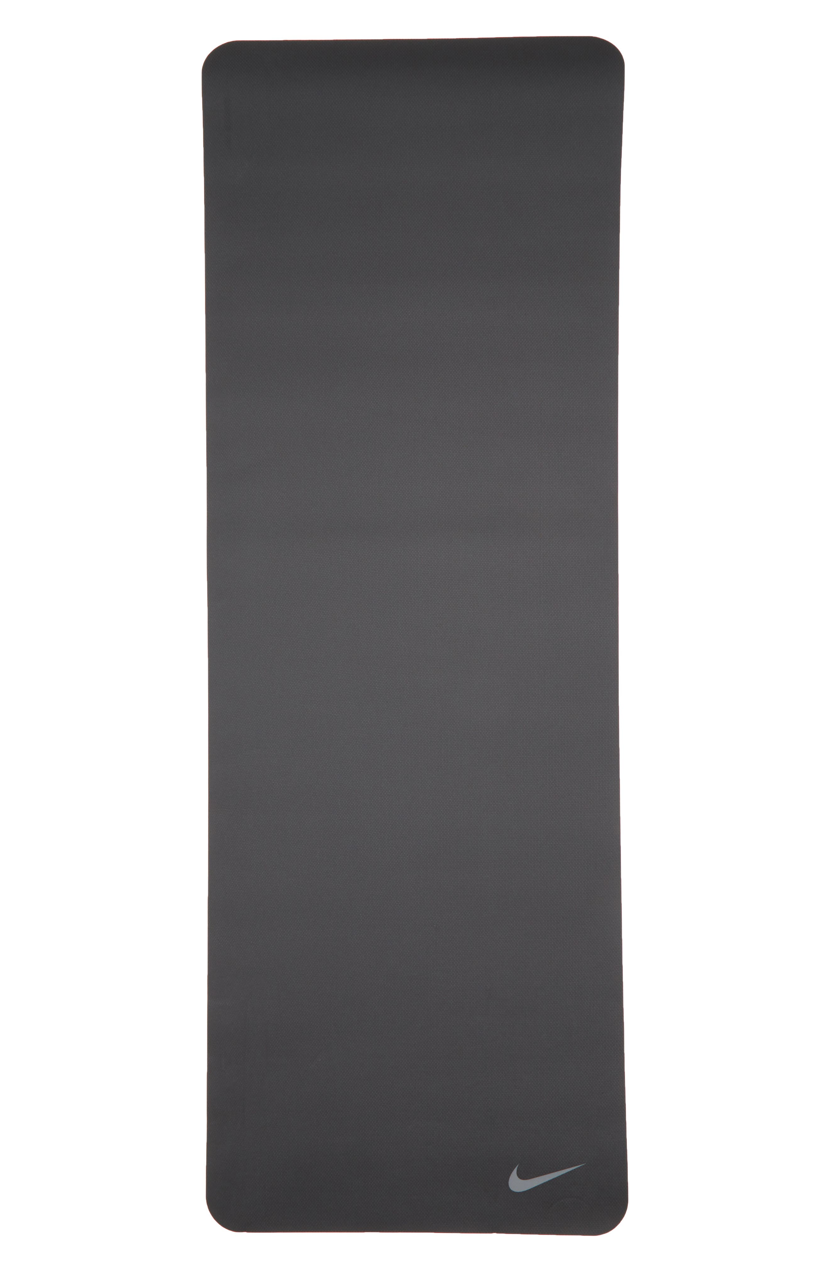 5mm Yoga Mat,                             Alternate thumbnail 2, color,                             Anthracite/ Voltage Green