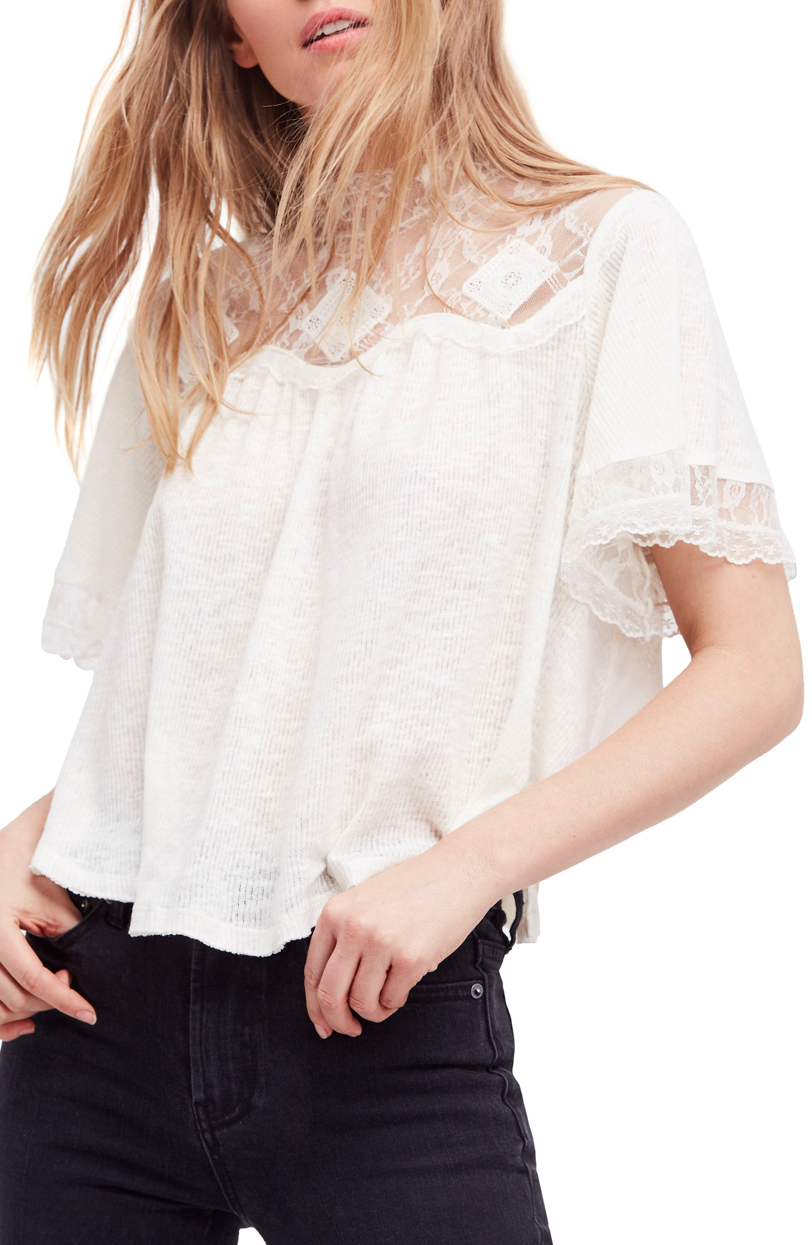 Cape May Tee,                         Main,                         color, Ivory