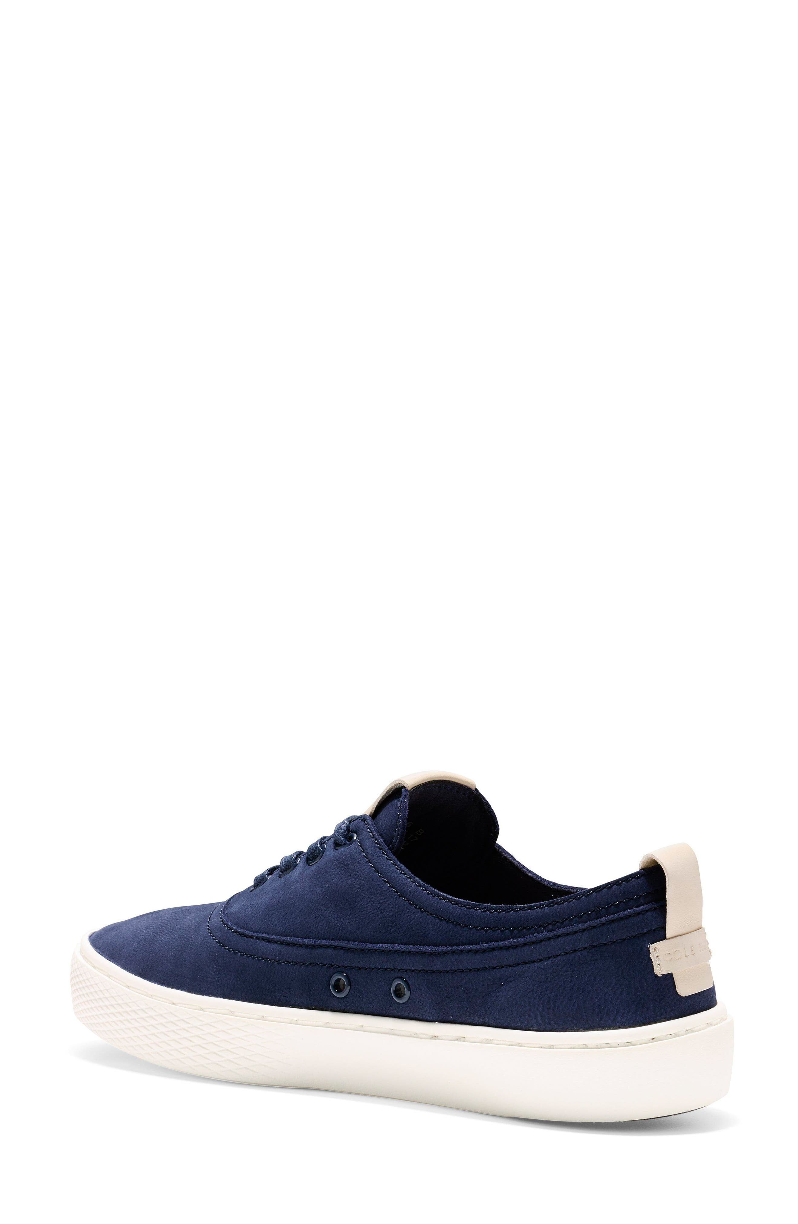 GrandPro Deck Sneaker,                             Alternate thumbnail 2, color,                             Blue/ White Nubuck