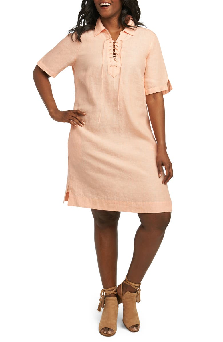 Leah Linen Dress